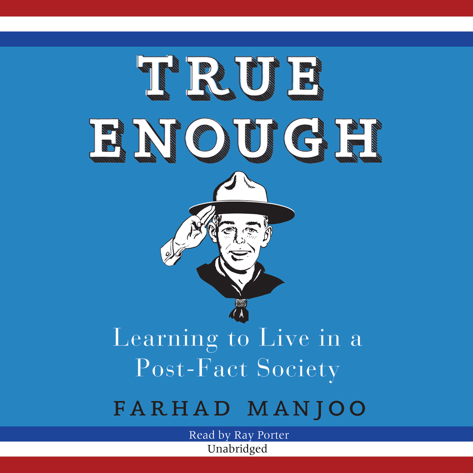 Printable True Enough: Learning to Live in a Post-Fact Society Audiobook Cover Art