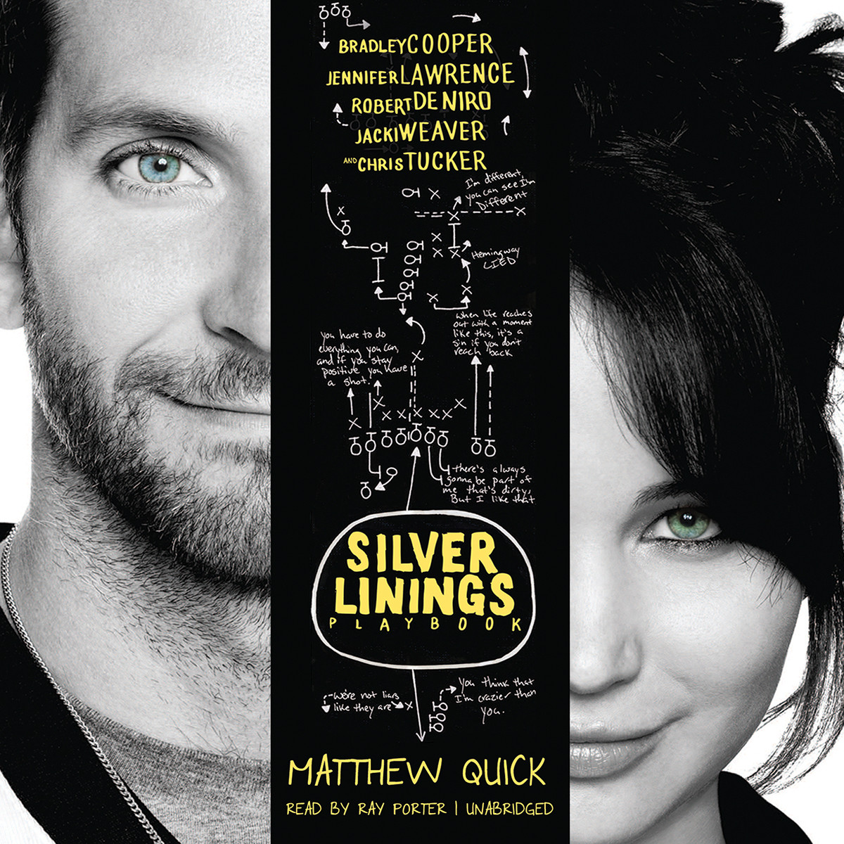 Printable The Silver Linings Playbook Audiobook Cover Art
