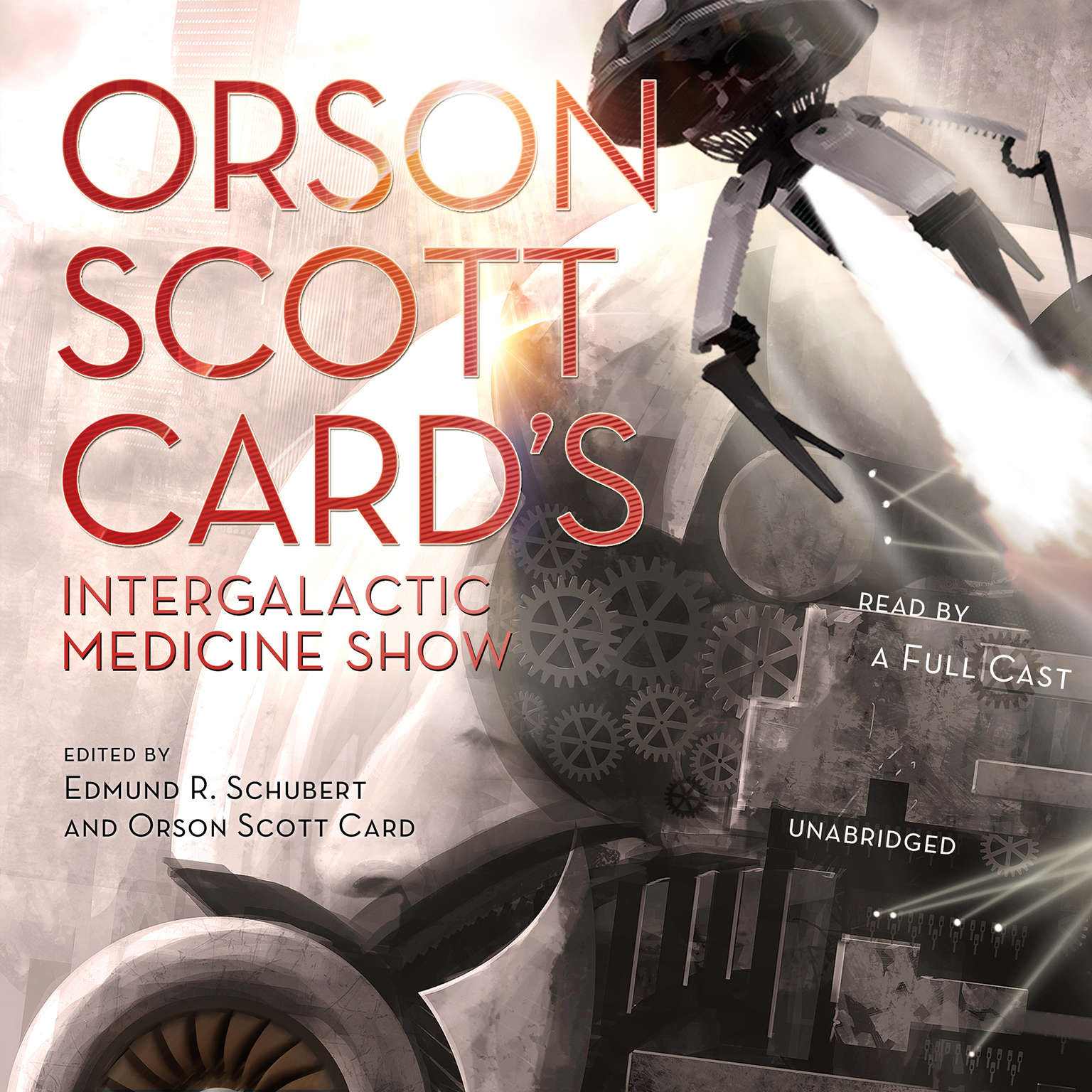 Printable Orson Scott Card's Intergalactic Medicine Show Audiobook Cover Art