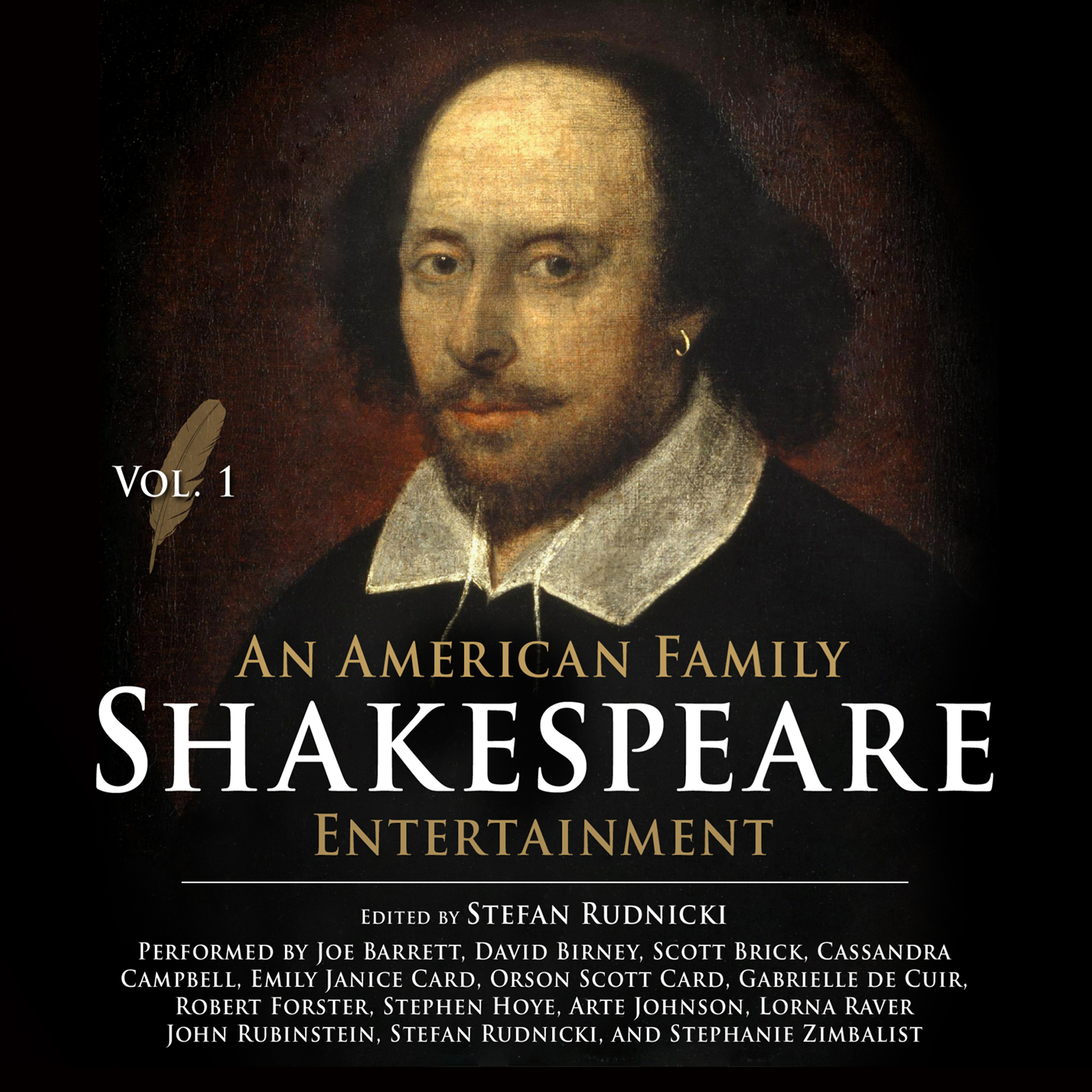 Printable An American Family Shakespeare Entertainment, Vol. 1 Audiobook Cover Art