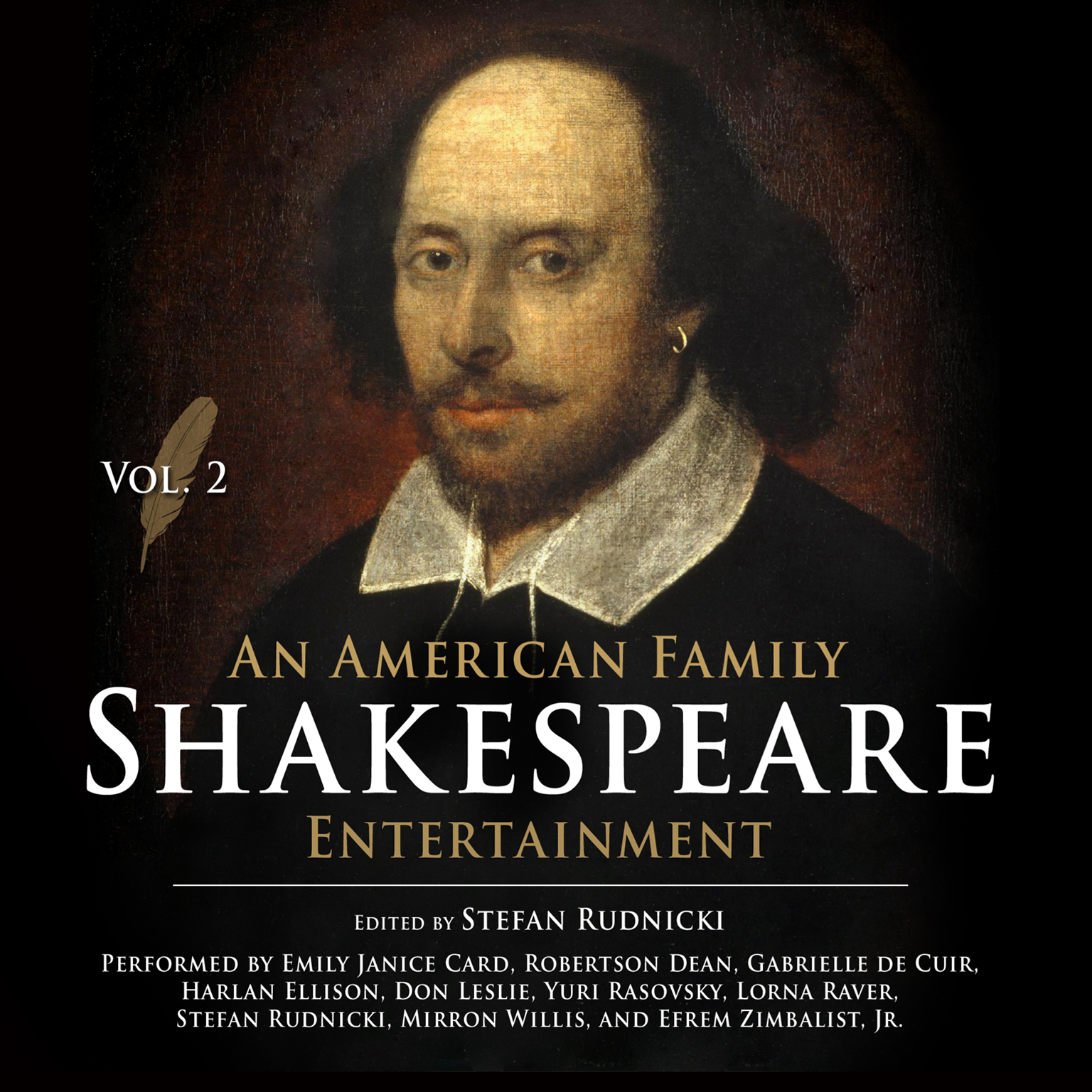Printable An American Family Shakespeare Entertainment, Vol. 2 Audiobook Cover Art