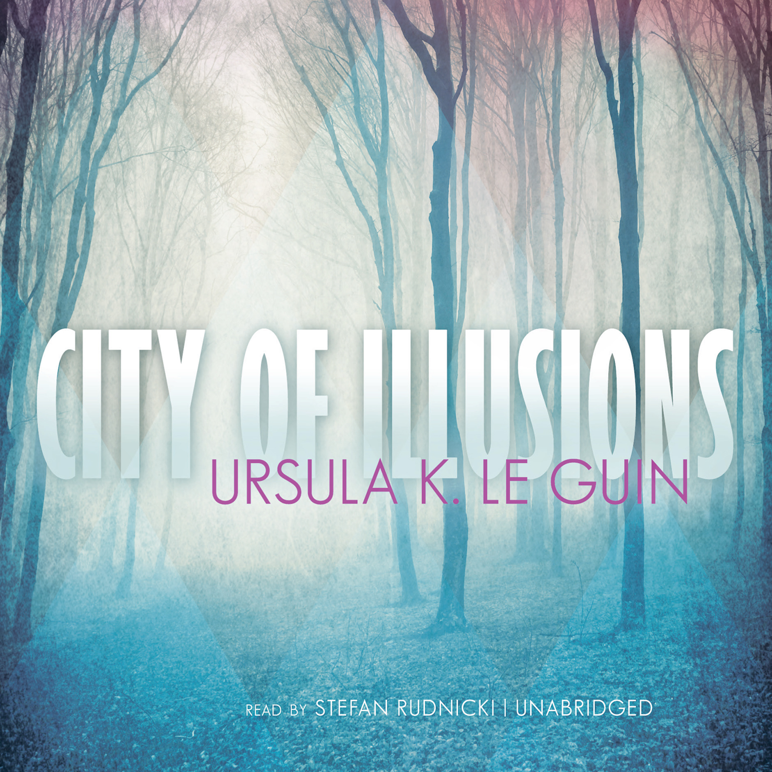 Printable City of Illusions Audiobook Cover Art