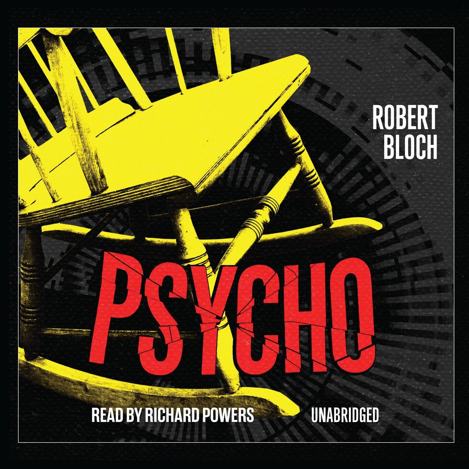 Printable Psycho Audiobook Cover Art