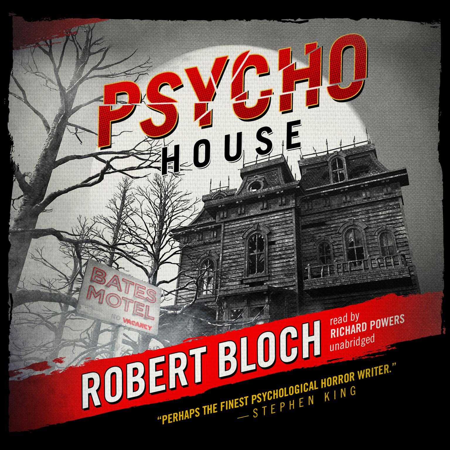 Printable Psycho House Audiobook Cover Art