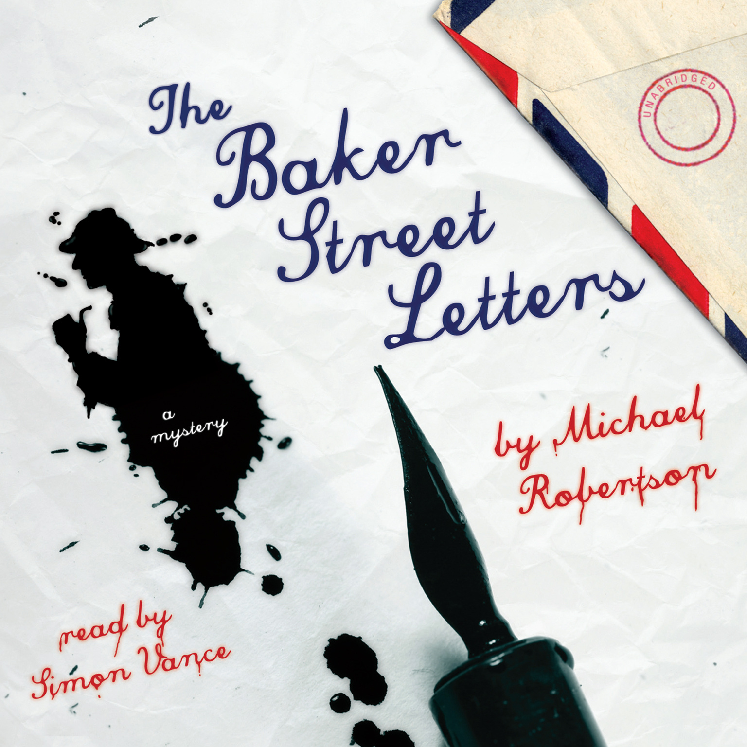 Printable The Baker Street Letters: A Mystery Audiobook Cover Art