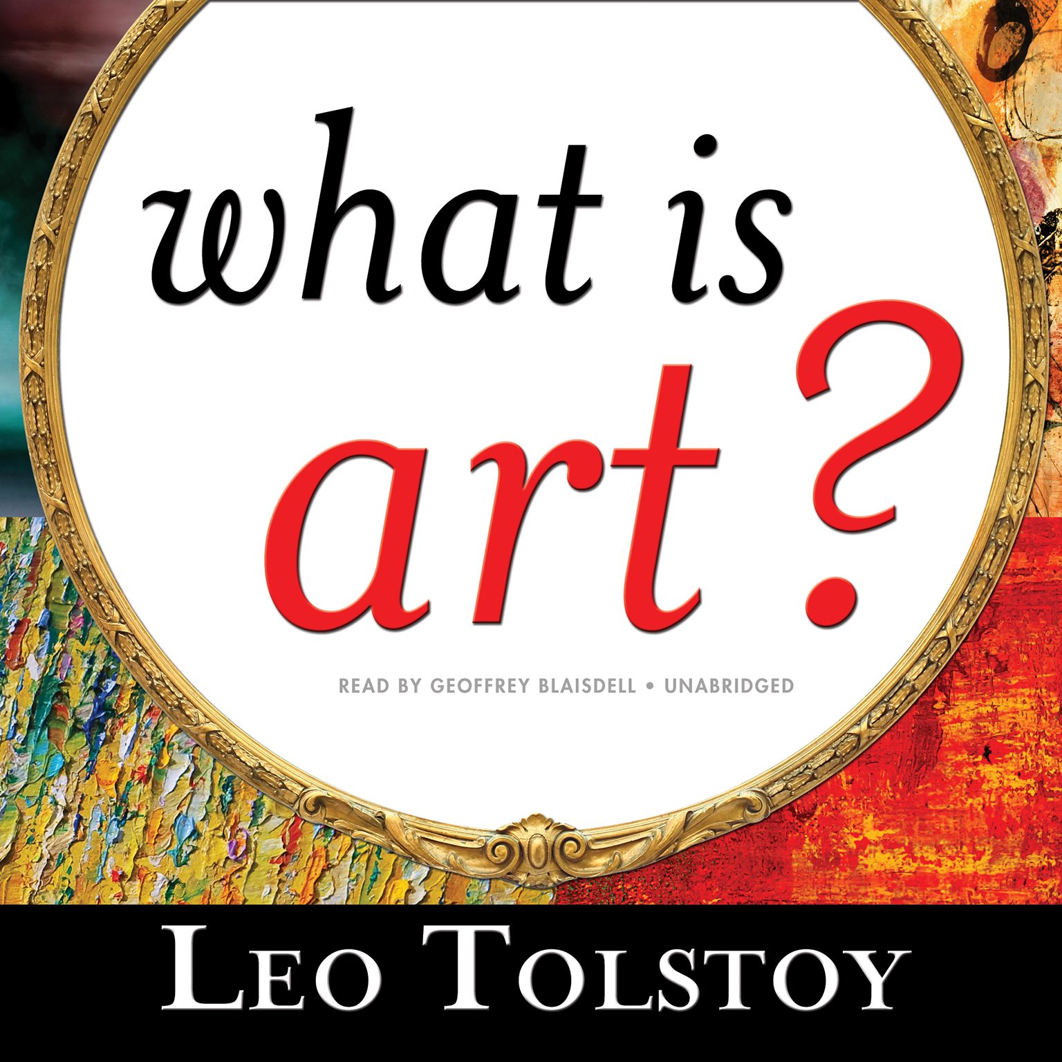 Printable What Is Art? Audiobook Cover Art