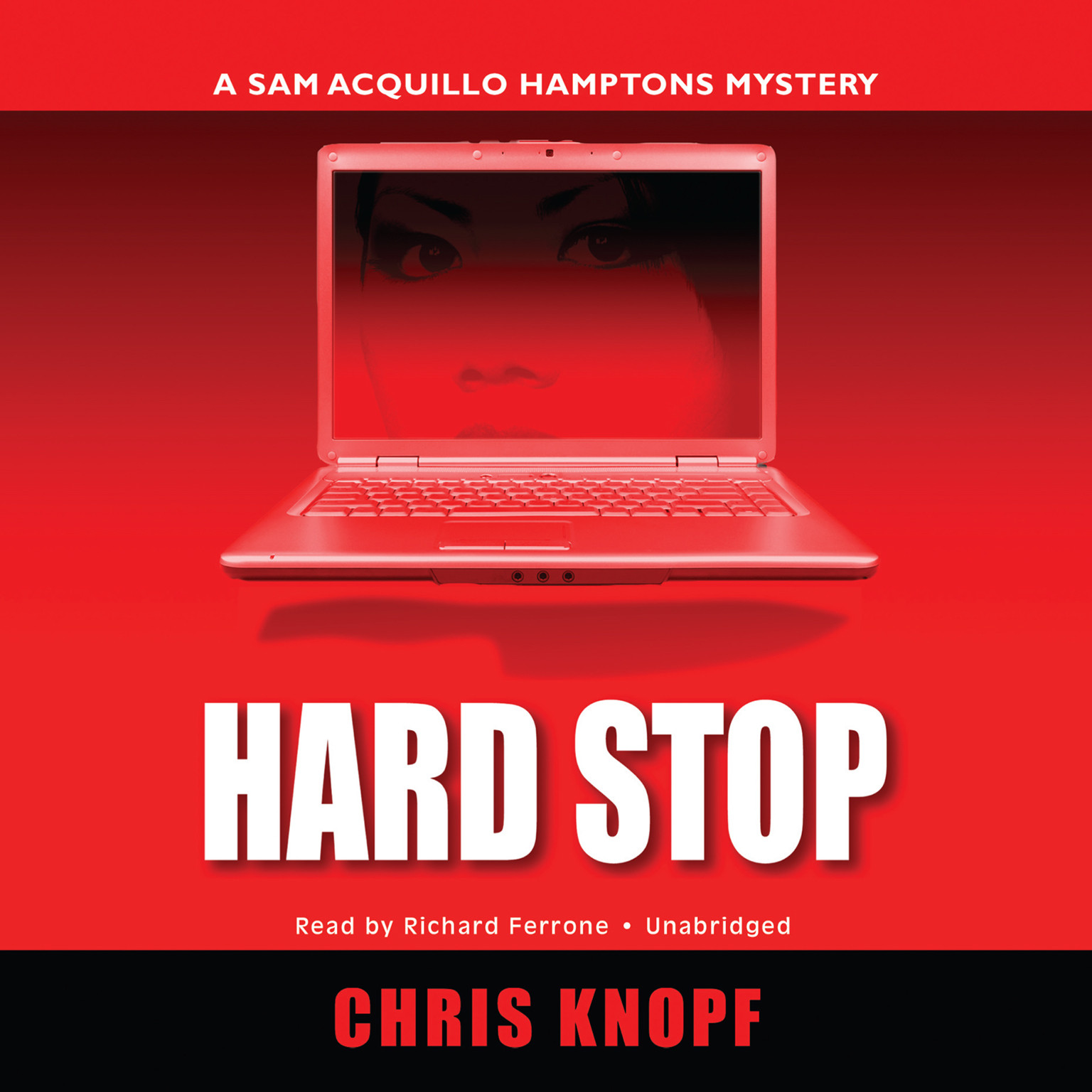 Printable Hard Stop: A Sam Acquillo Hamptons Mystery Audiobook Cover Art
