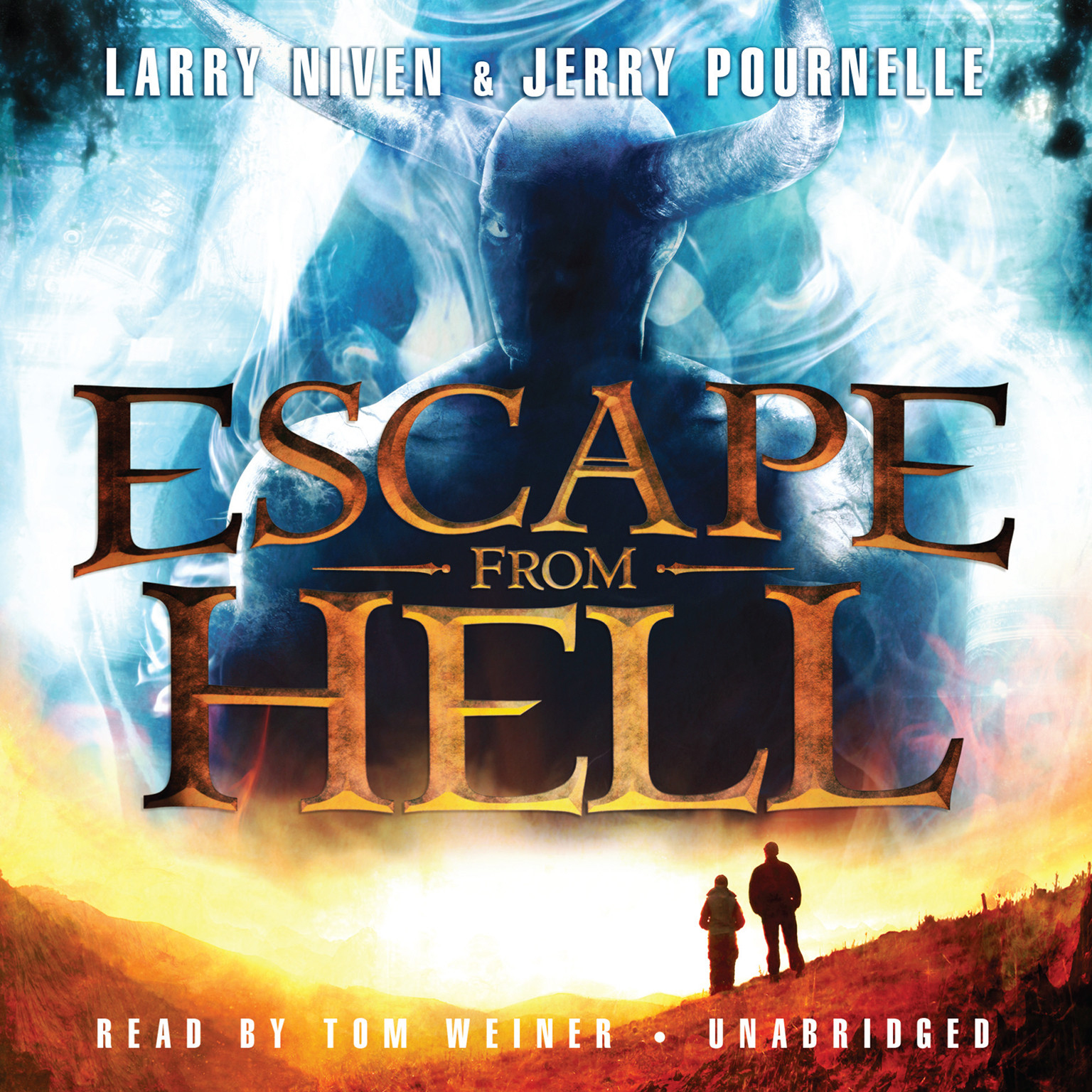 Printable Escape from Hell Audiobook Cover Art