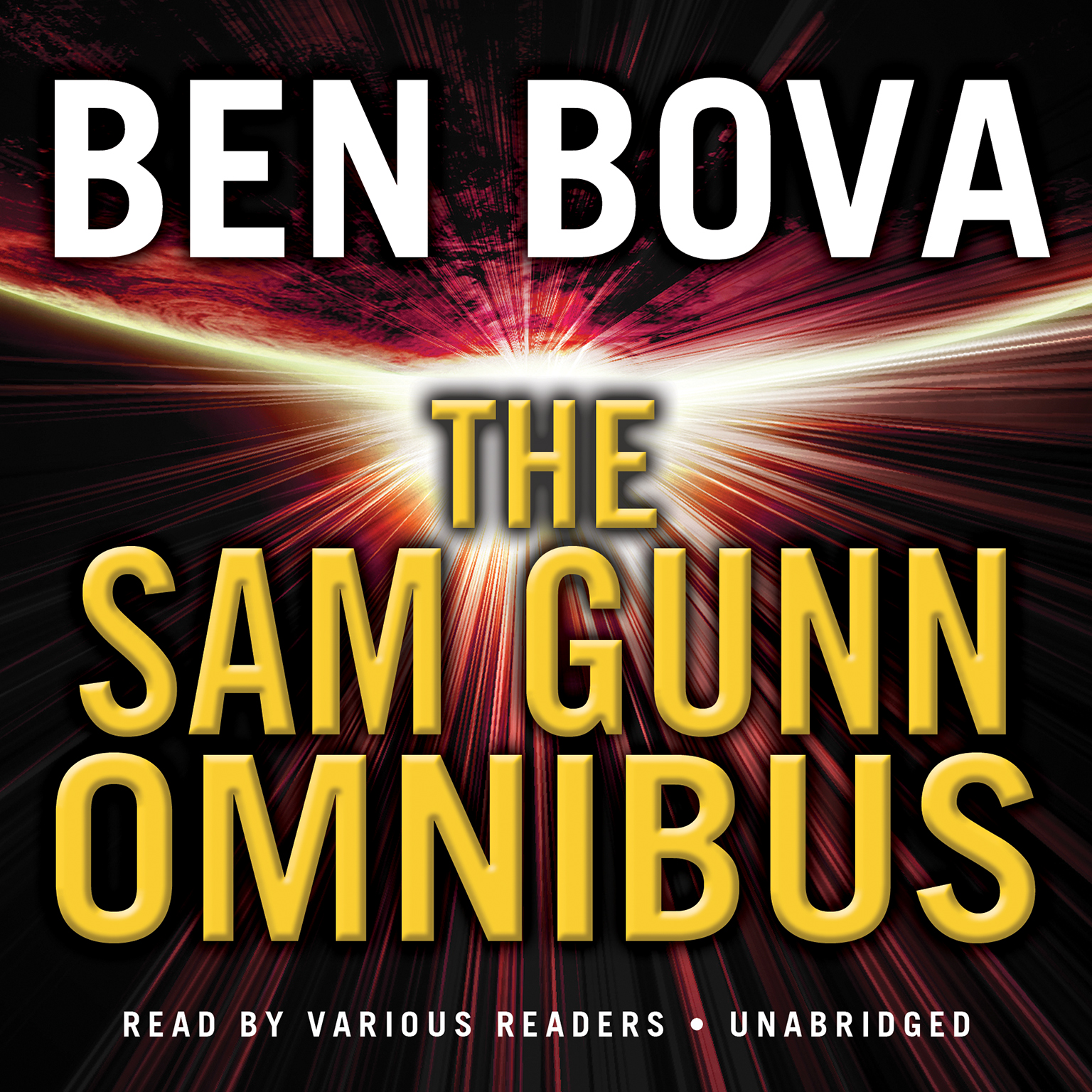 Printable The Sam Gunn Omnibus Audiobook Cover Art
