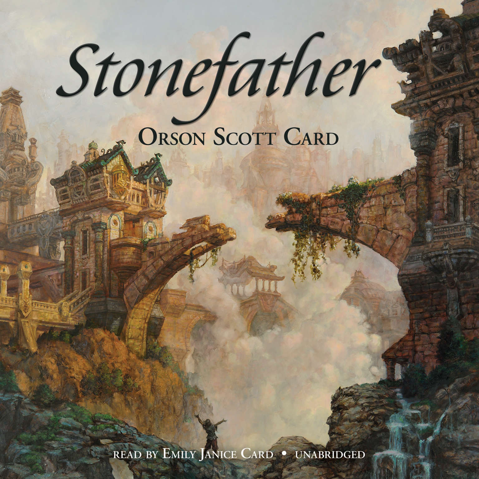 Printable Stonefather Audiobook Cover Art