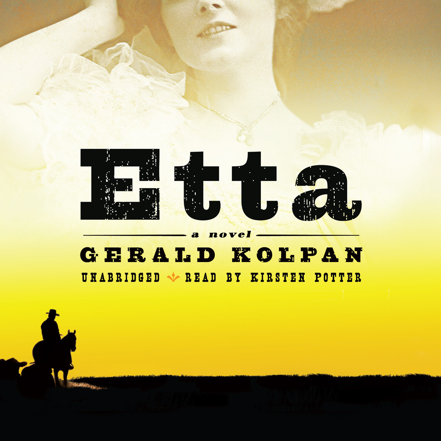 Printable Etta: A Novel Audiobook Cover Art