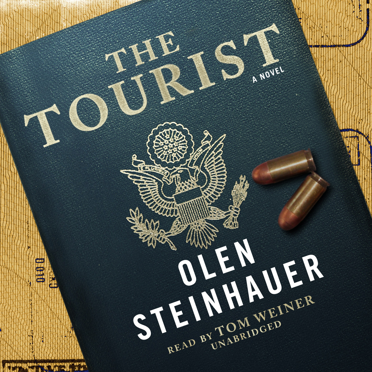 Printable The Tourist Audiobook Cover Art