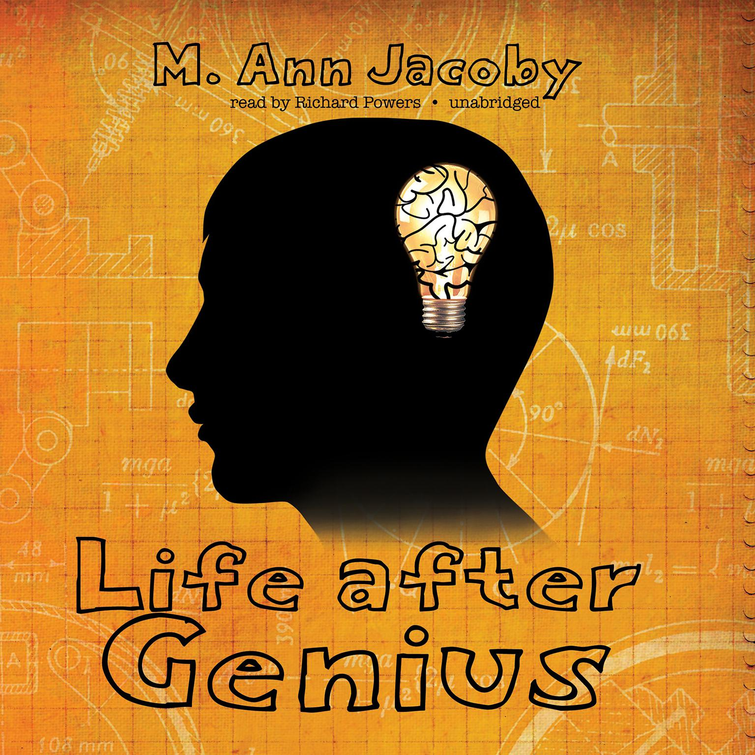 Printable Life after Genius Audiobook Cover Art