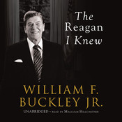 The Reagan I Knew Audiobook, by William F. Buckley
