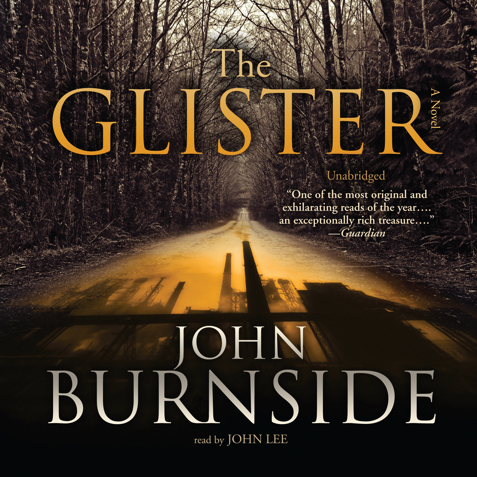 Printable The Glister: A Novel Audiobook Cover Art