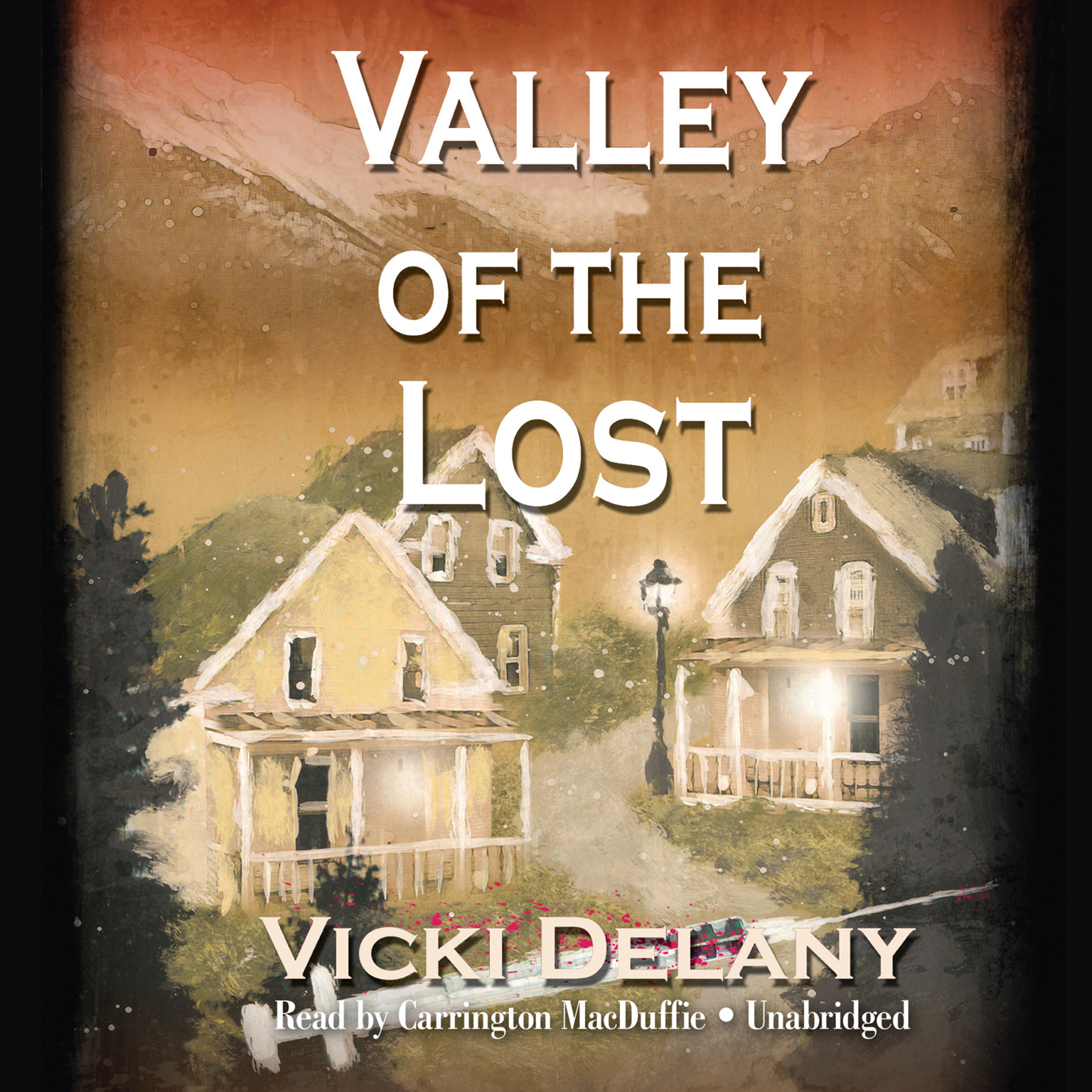 Printable Valley of the Lost Audiobook Cover Art