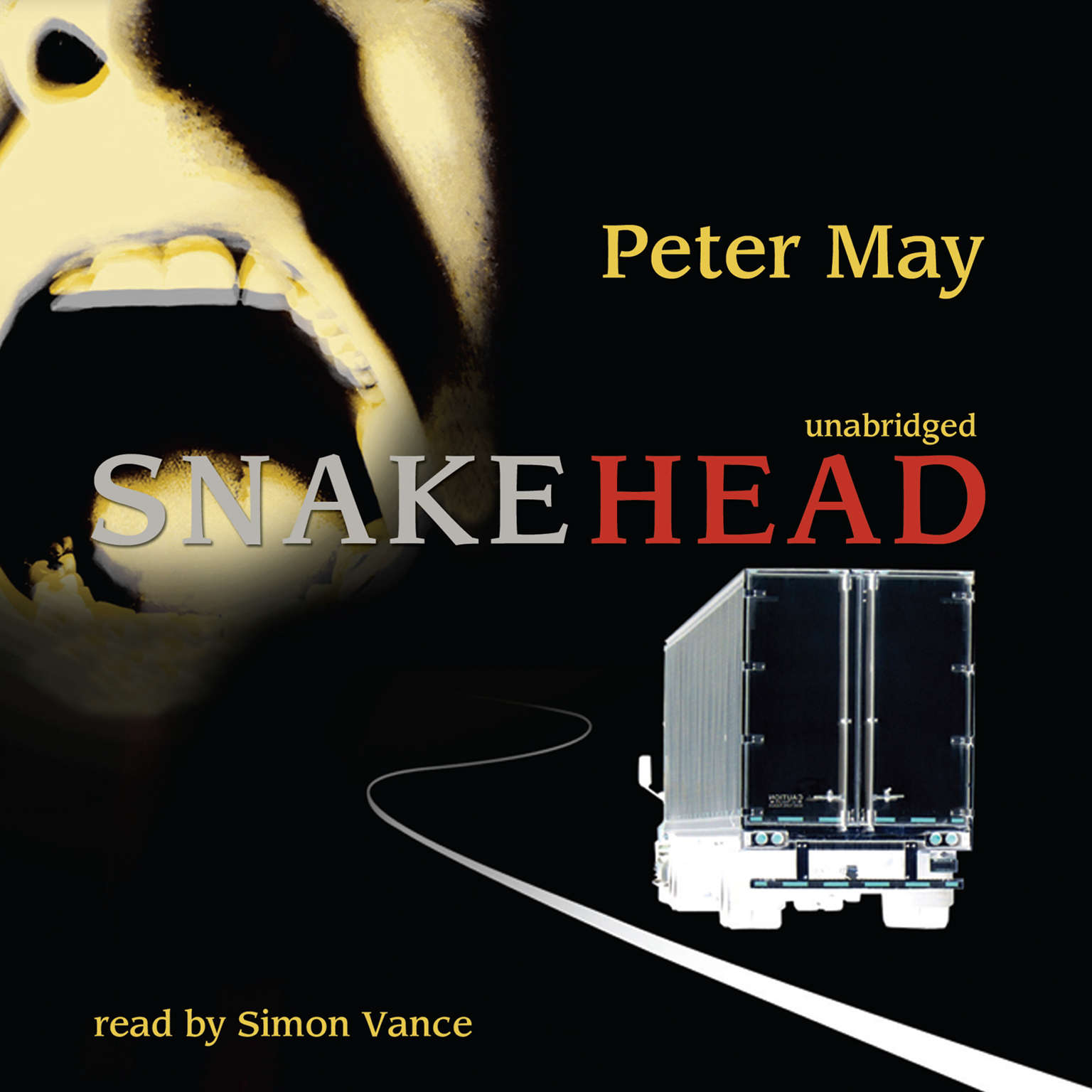 Printable Snakehead Audiobook Cover Art