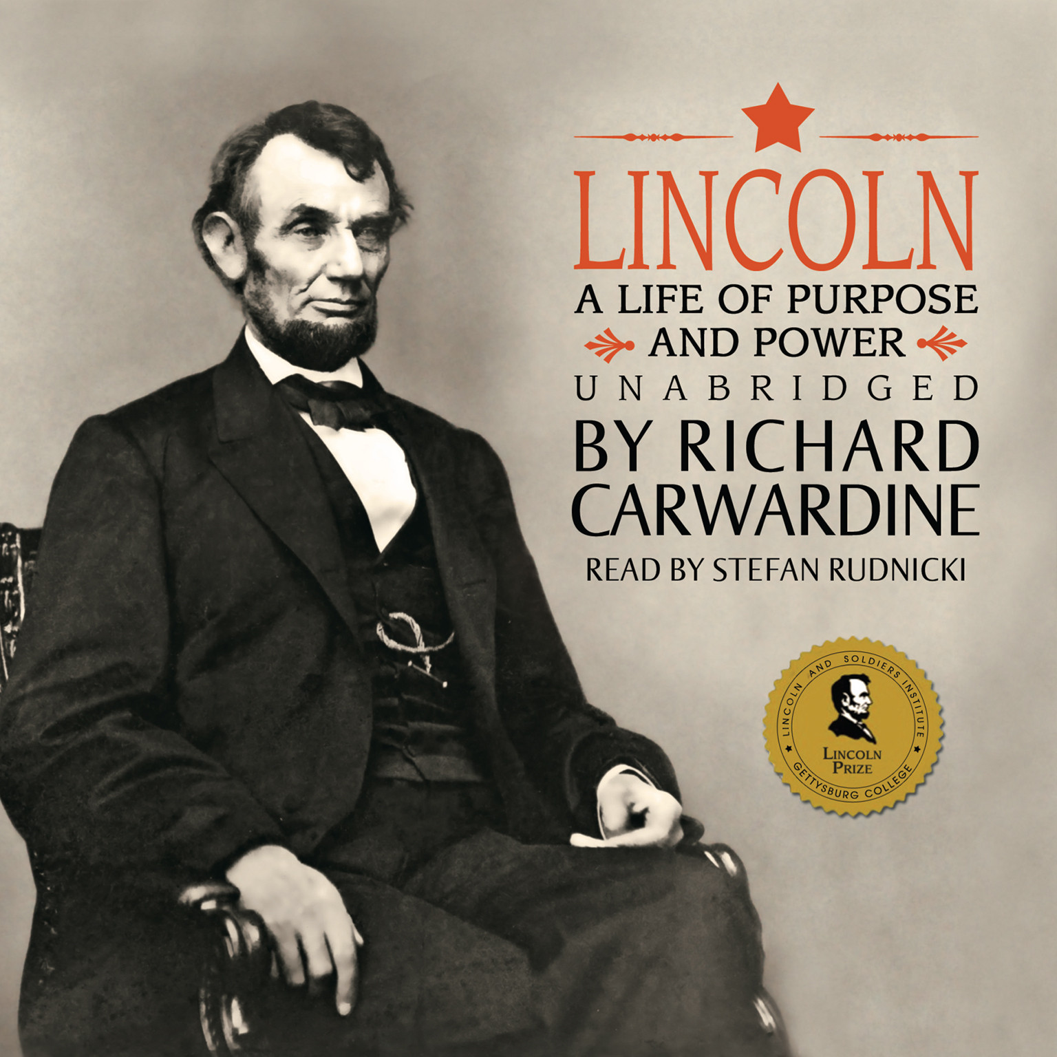 Printable Lincoln: A Life of Purpose and Power Audiobook Cover Art