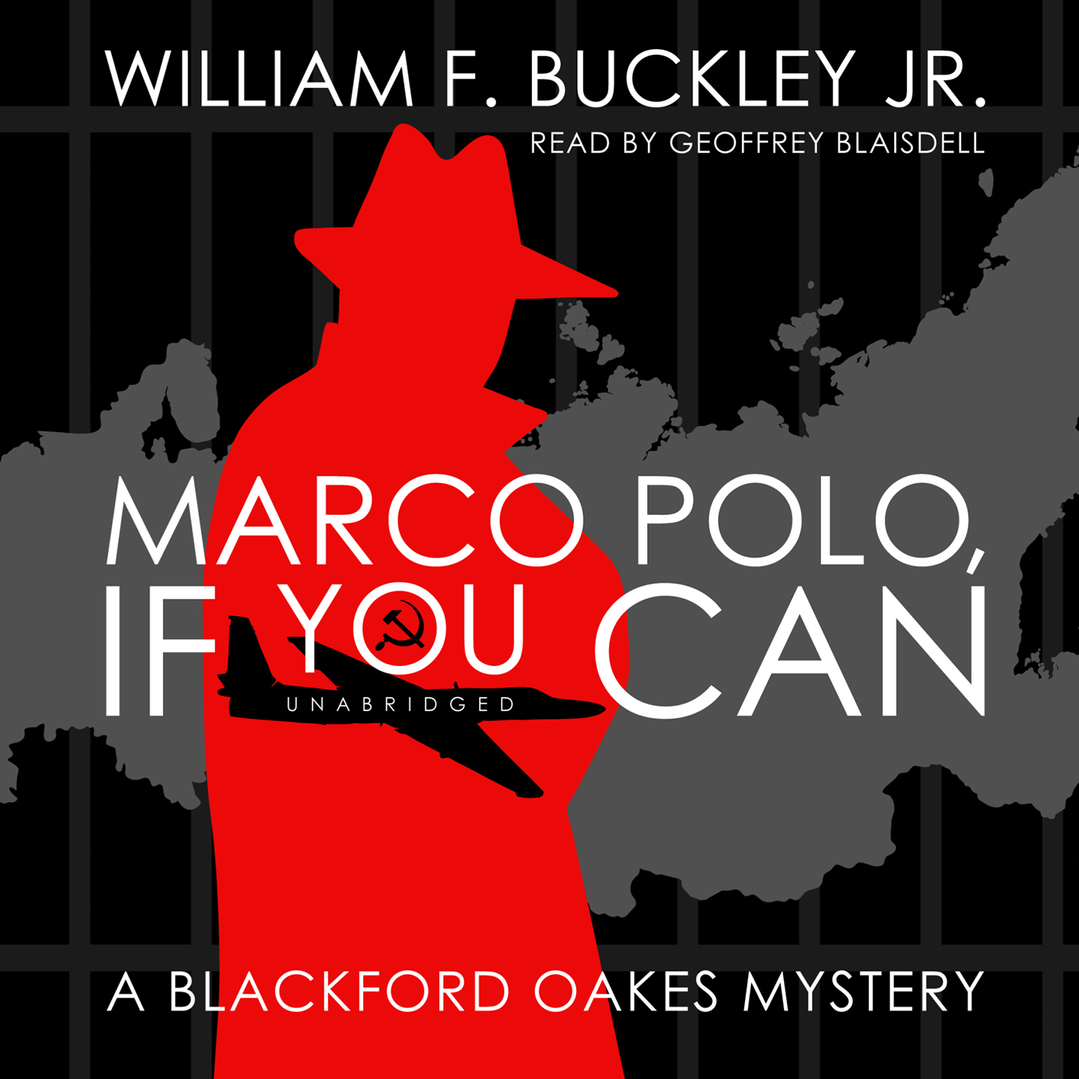 Printable Marco Polo, If You Can: A Blackford Oakes Mystery Audiobook Cover Art