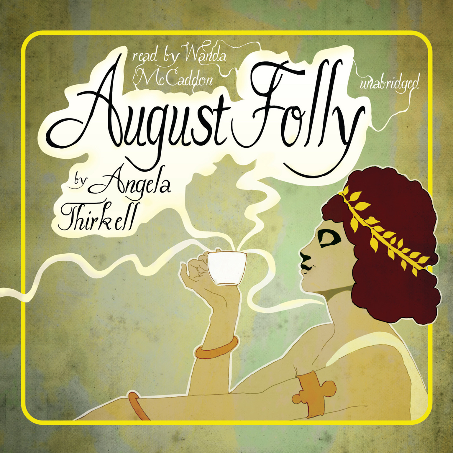 Printable August Folly Audiobook Cover Art
