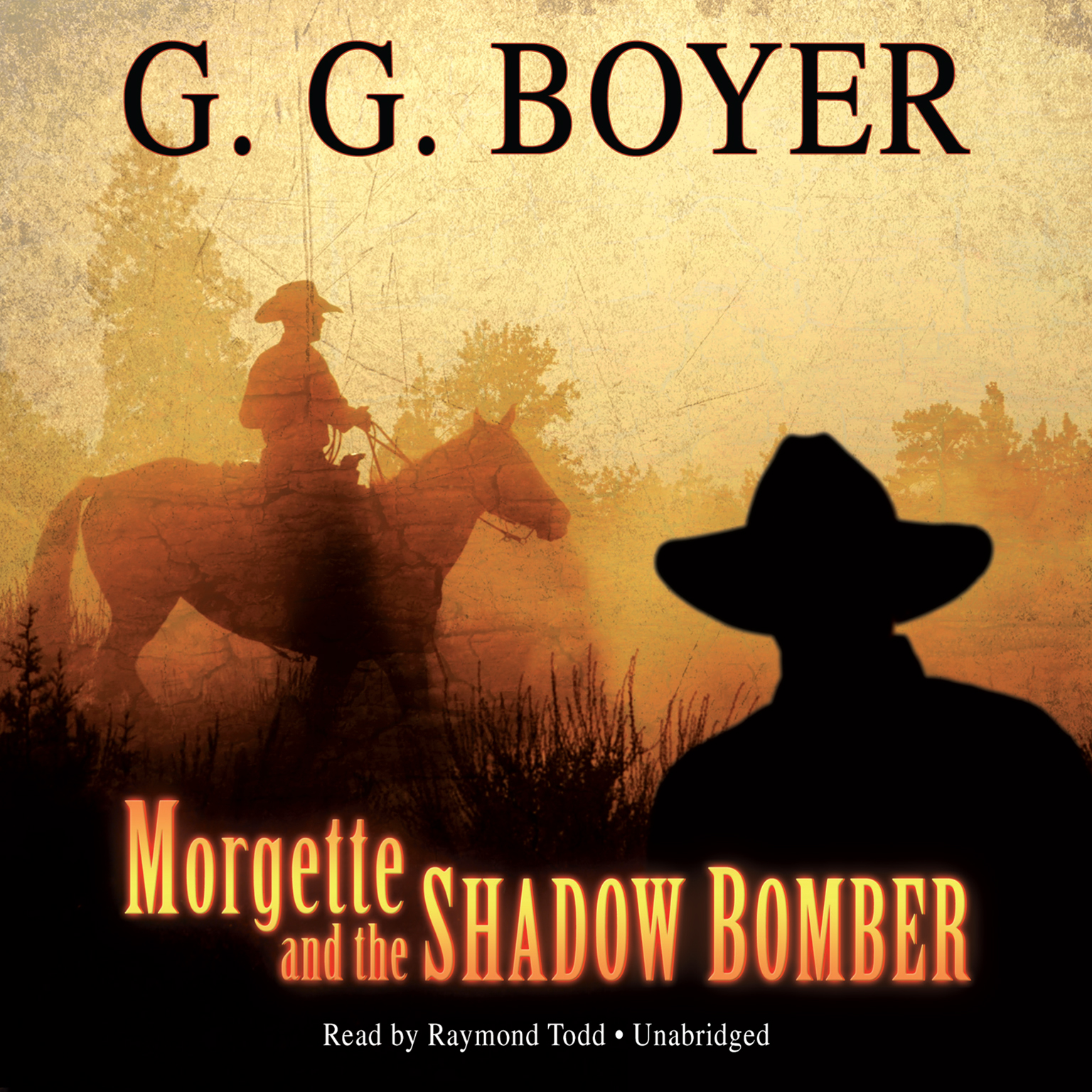 Printable Morgette and the Shadow Bomber Audiobook Cover Art