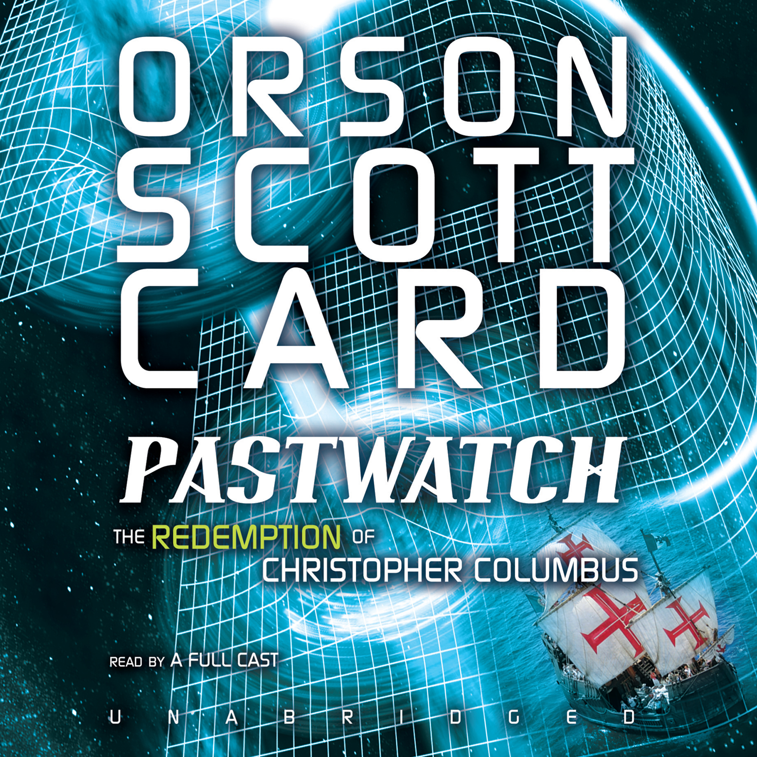 Printable Pastwatch: The Redemption of Christopher Columbus Audiobook Cover Art
