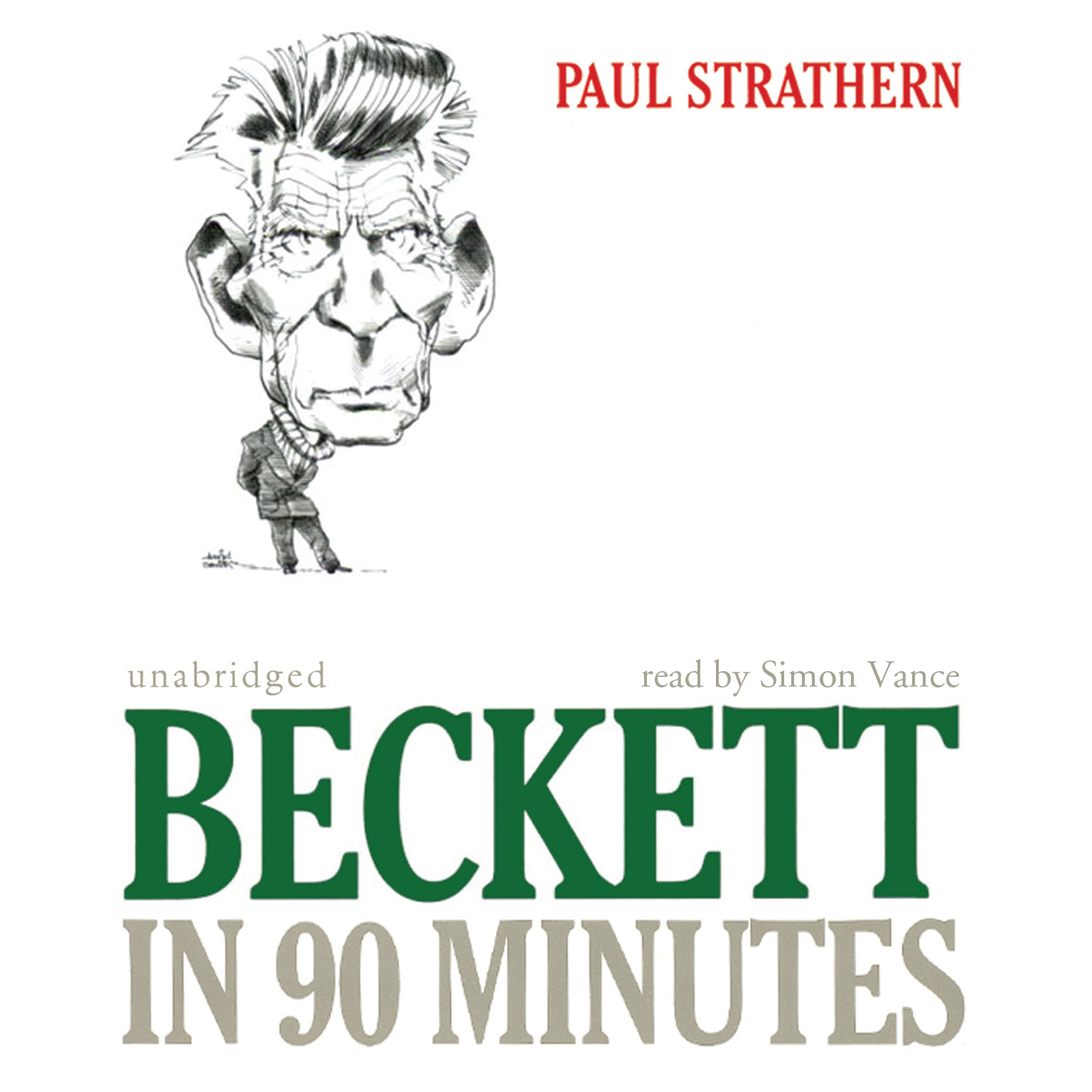 Printable Beckett in 90 Minutes Audiobook Cover Art