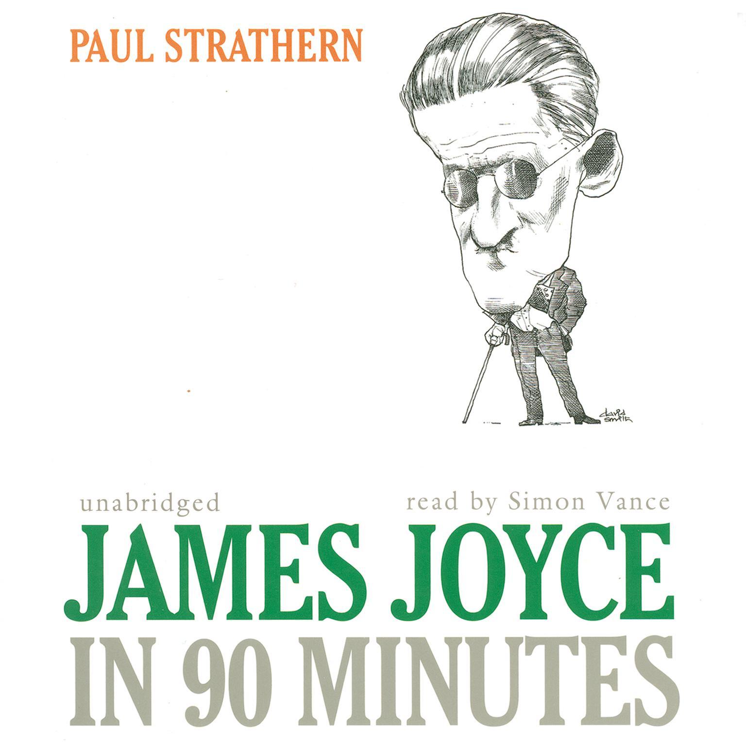 Printable James Joyce in 90 Minutes Audiobook Cover Art