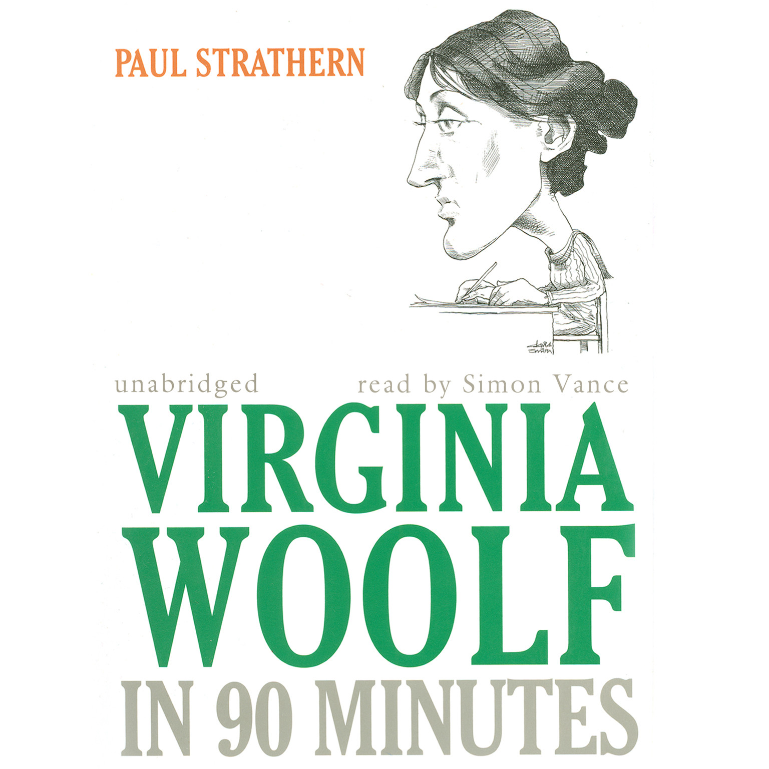 Printable Virginia Woolf in 90 Minutes Audiobook Cover Art