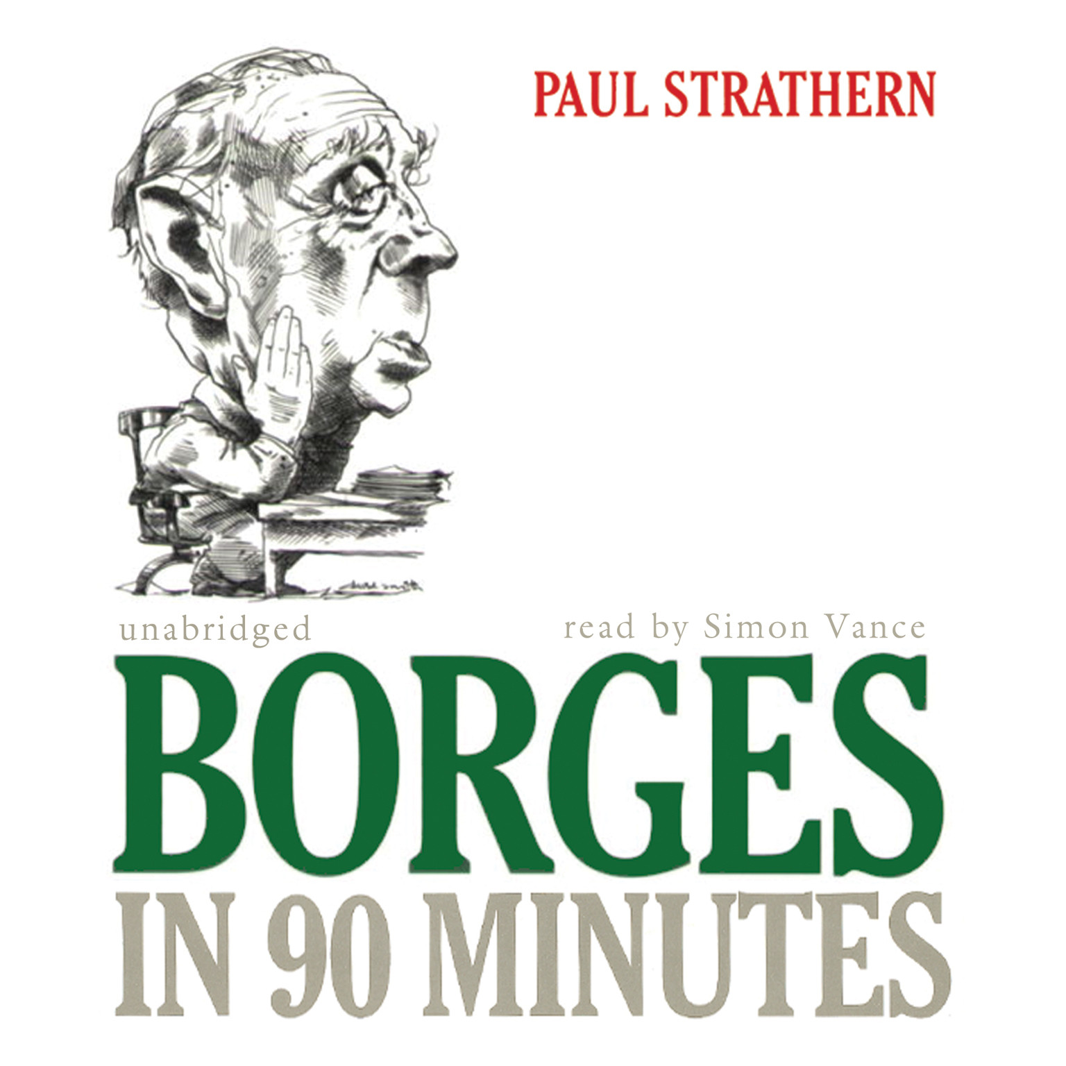 Printable Borges in 90 Minutes Audiobook Cover Art