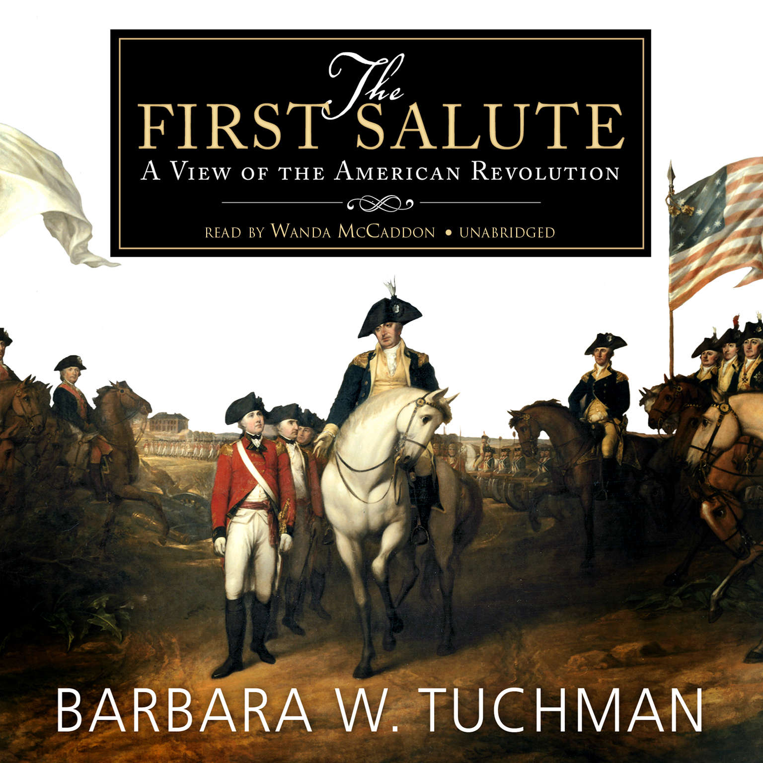 Printable The First Salute Audiobook Cover Art