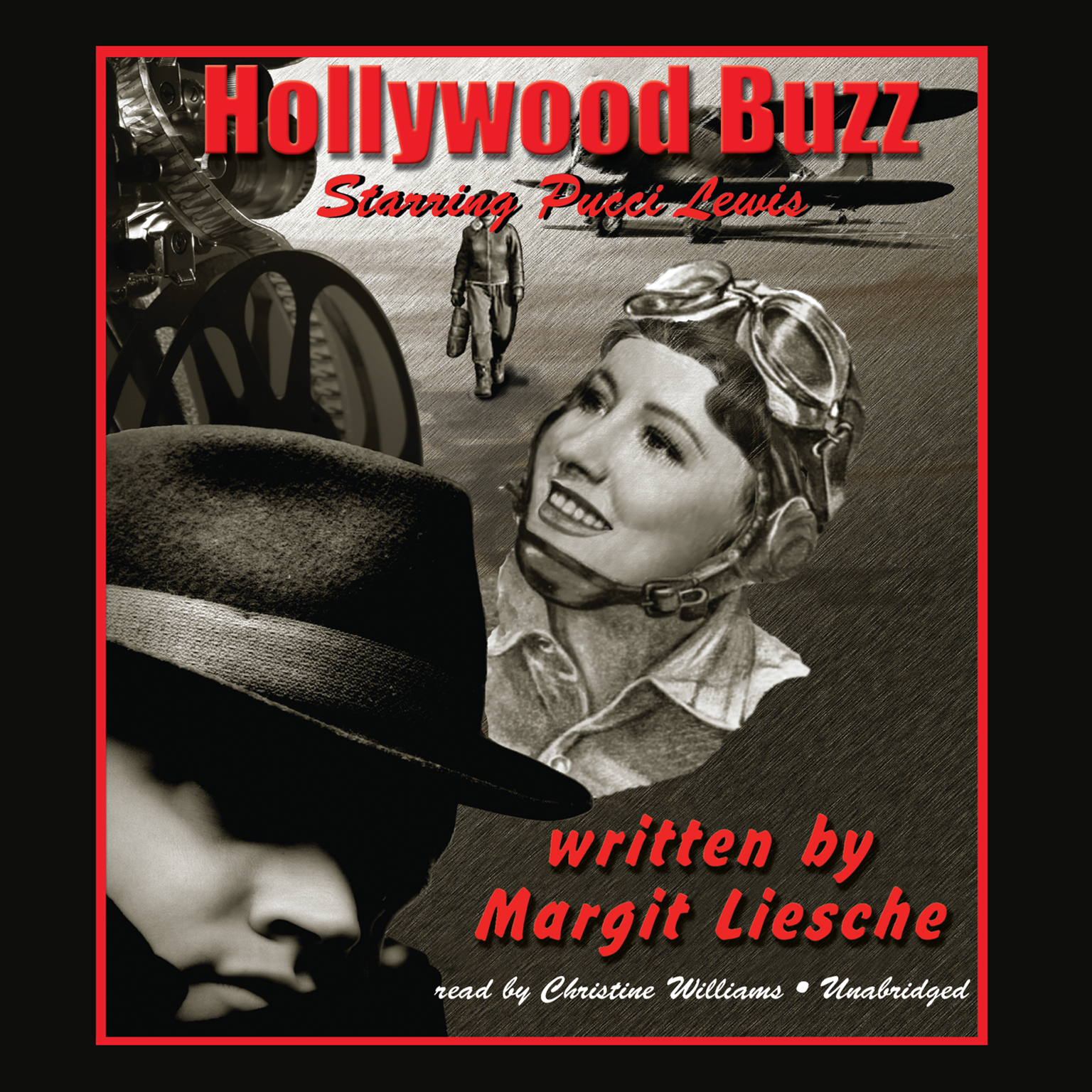 Printable Hollywood Buzz Audiobook Cover Art