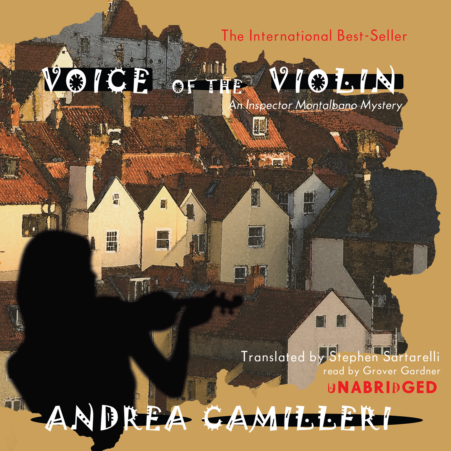 Printable Voice of the Violin: An Inspector Montalbano Mystery Audiobook Cover Art