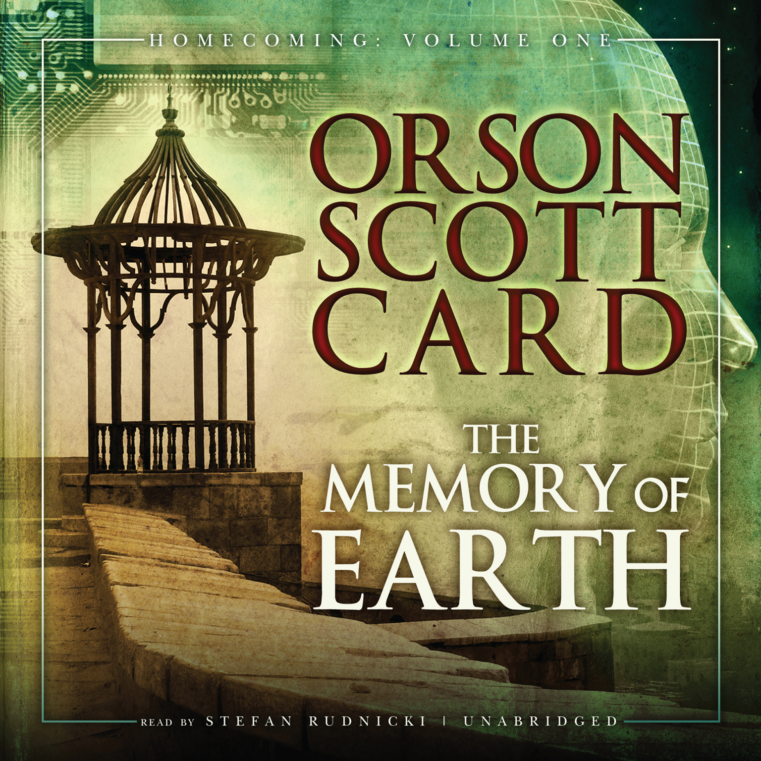 Printable The Memory of Earth: Homecoming, Vol. 1 Audiobook Cover Art