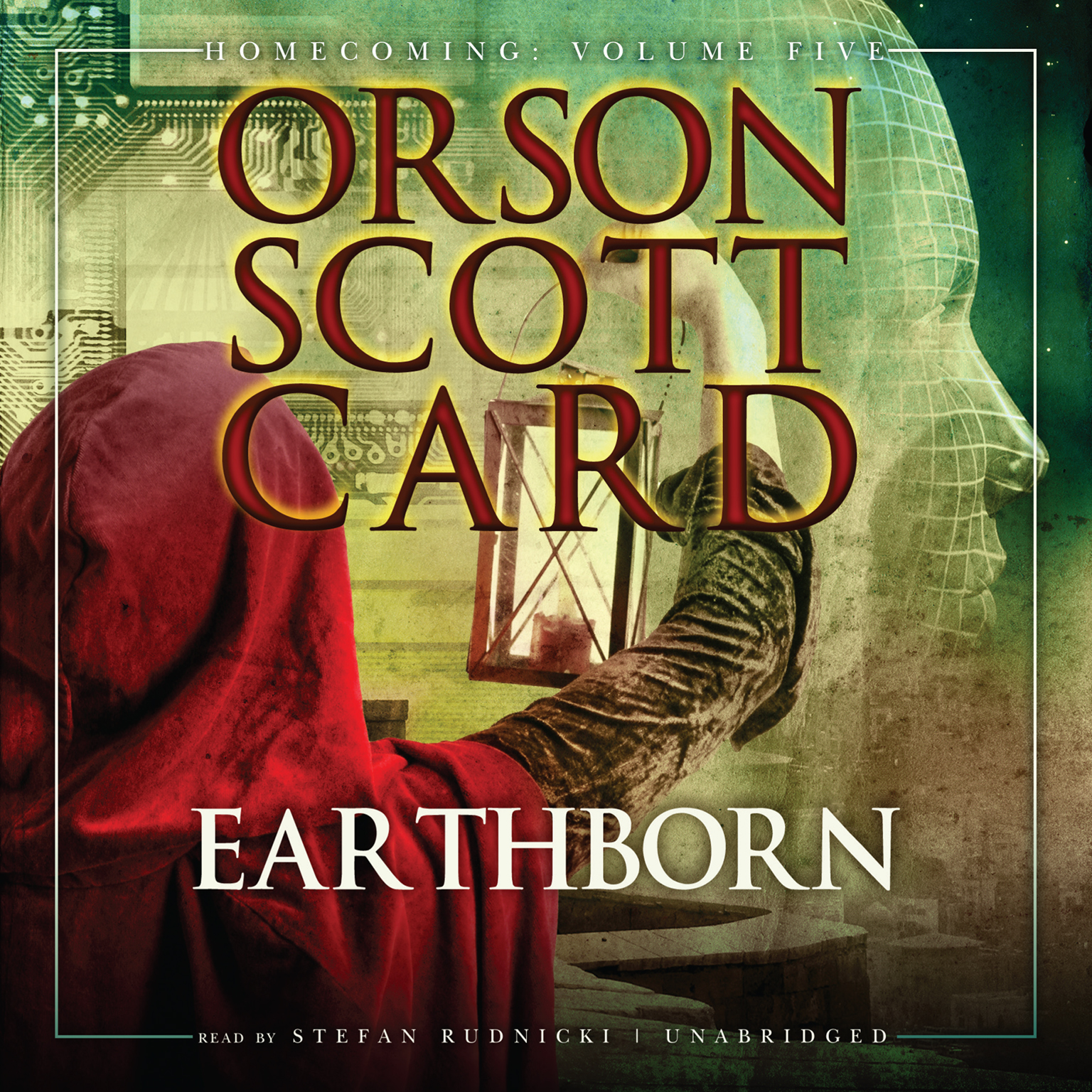 Printable Earthborn Audiobook Cover Art