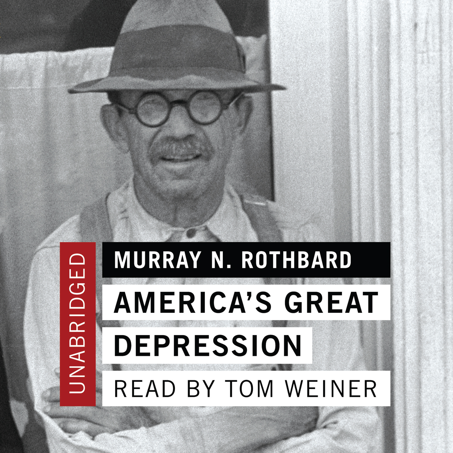 Printable America's Great Depression Audiobook Cover Art