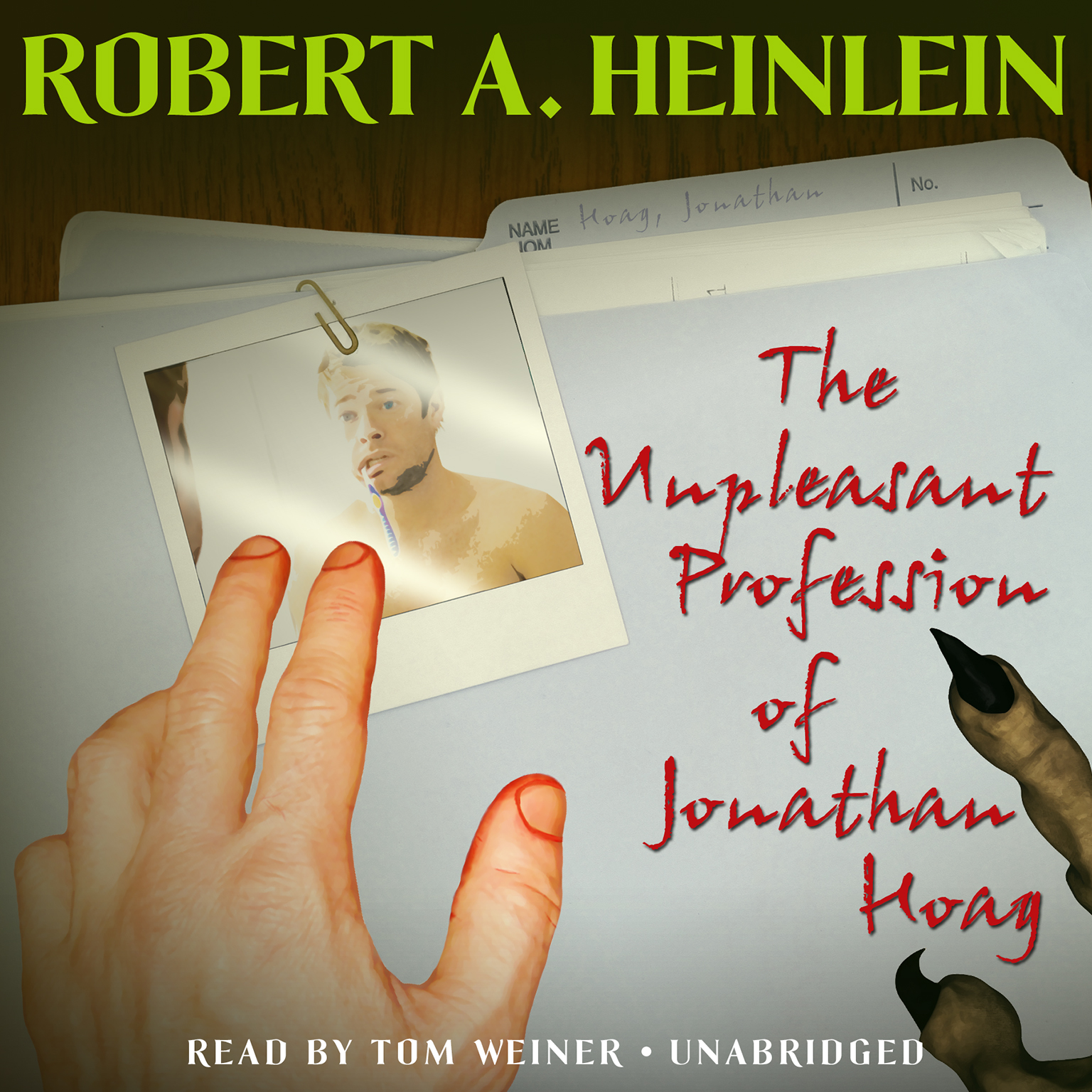 Printable The Unpleasant Profession of Jonathan Hoag Audiobook Cover Art