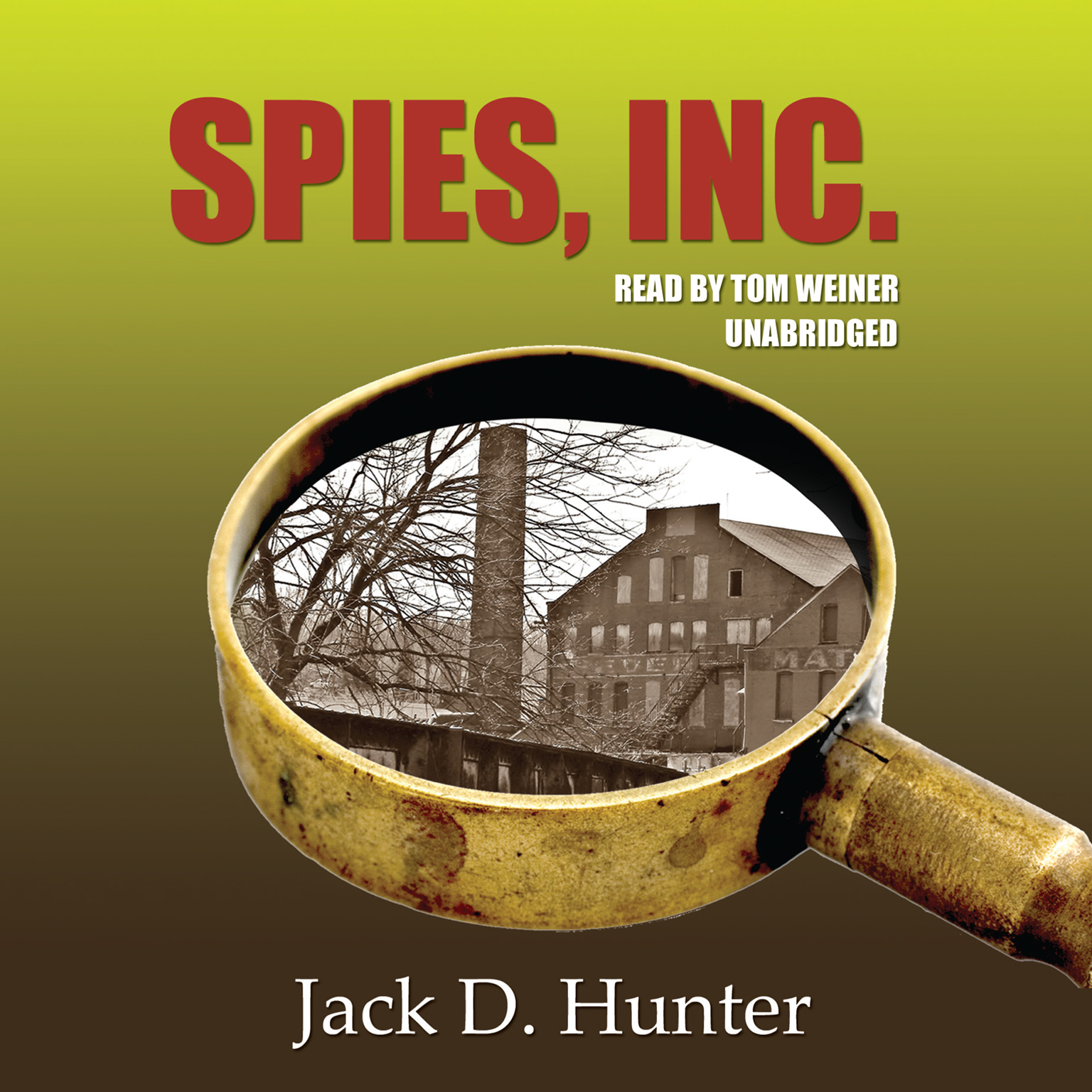 Printable Spies, Inc. Audiobook Cover Art