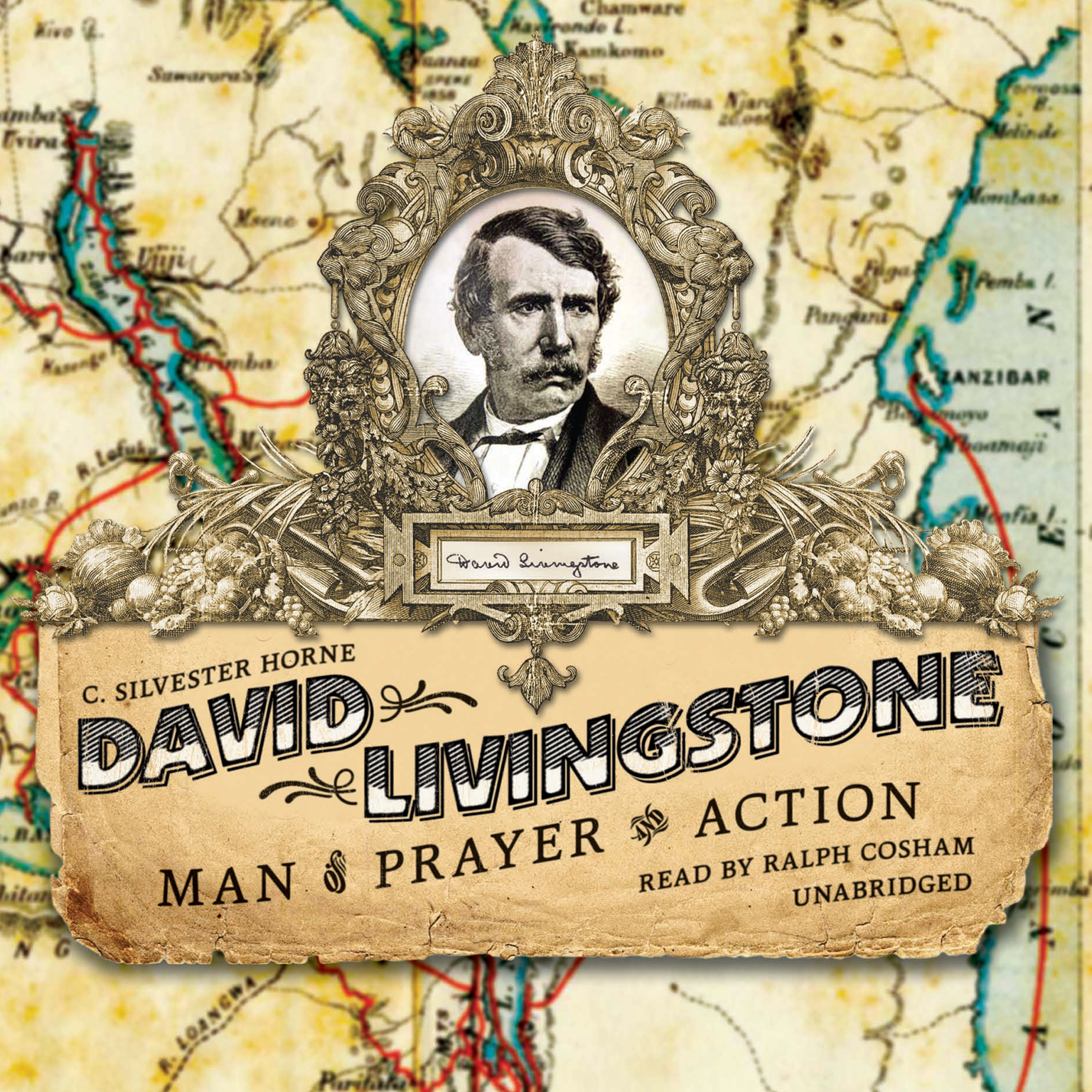 Printable David Livingstone: Man of Prayer and Action Audiobook Cover Art
