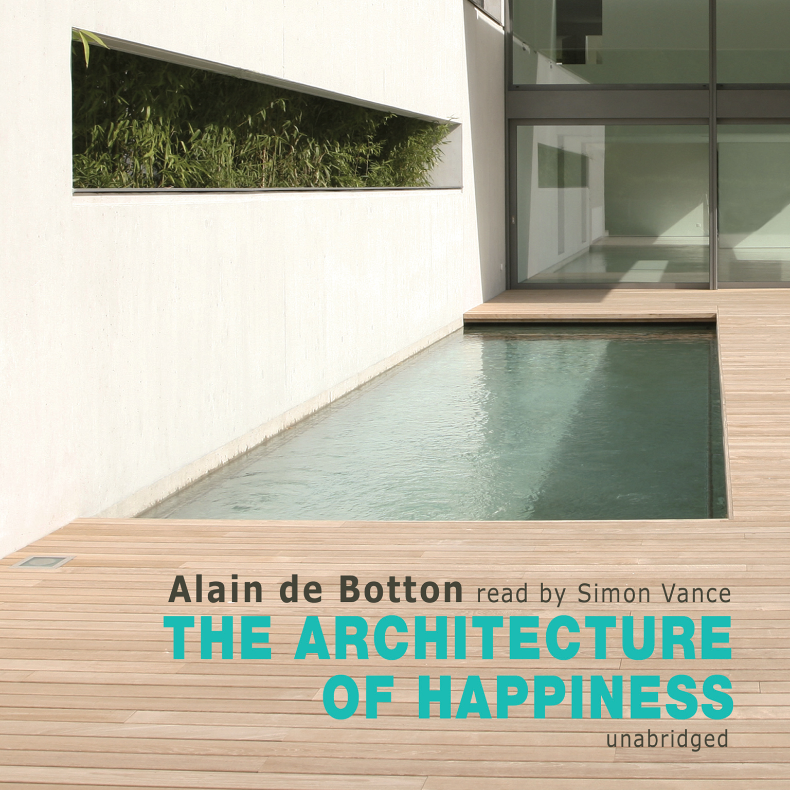 Printable The Architecture of Happiness Audiobook Cover Art