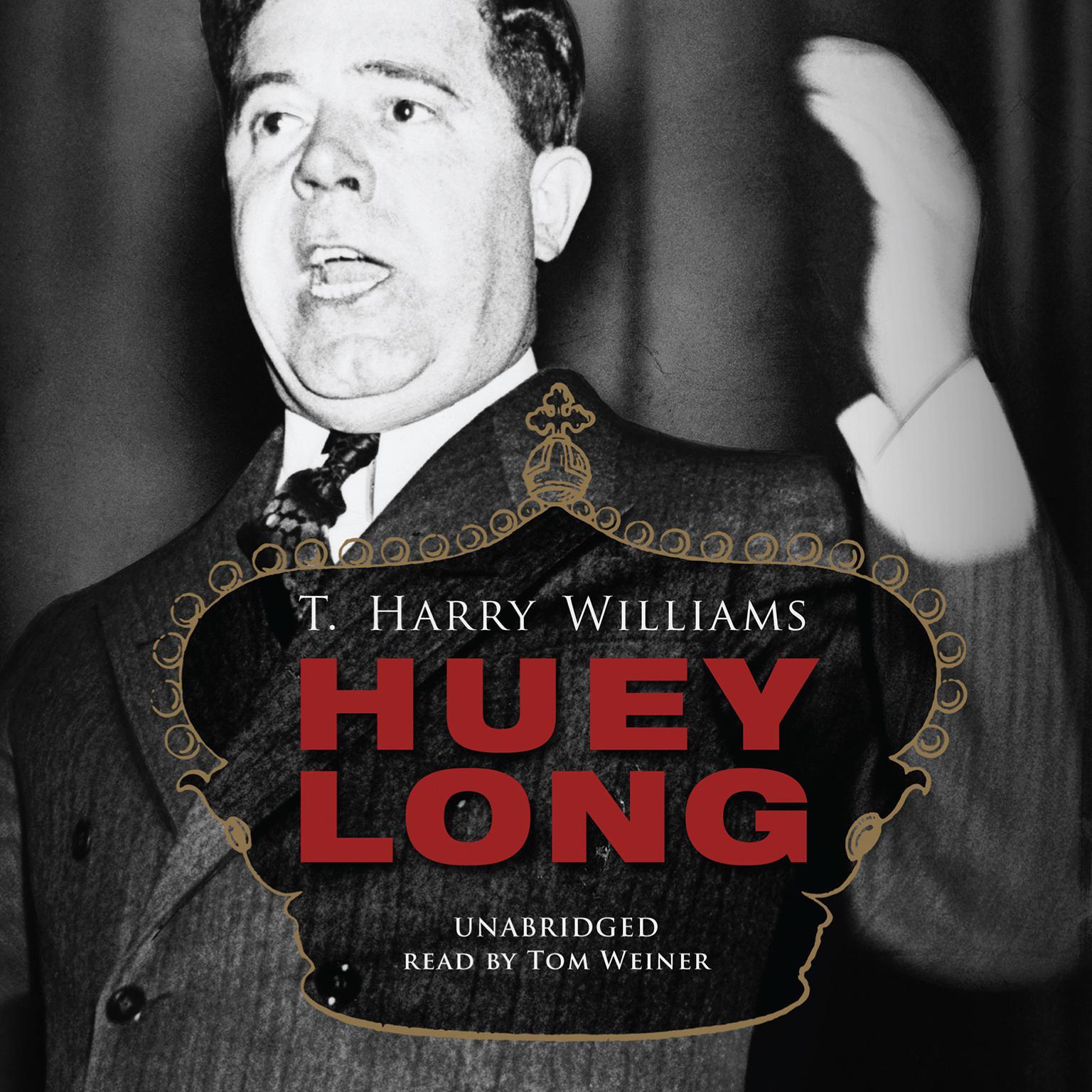 Printable Huey Long Audiobook Cover Art
