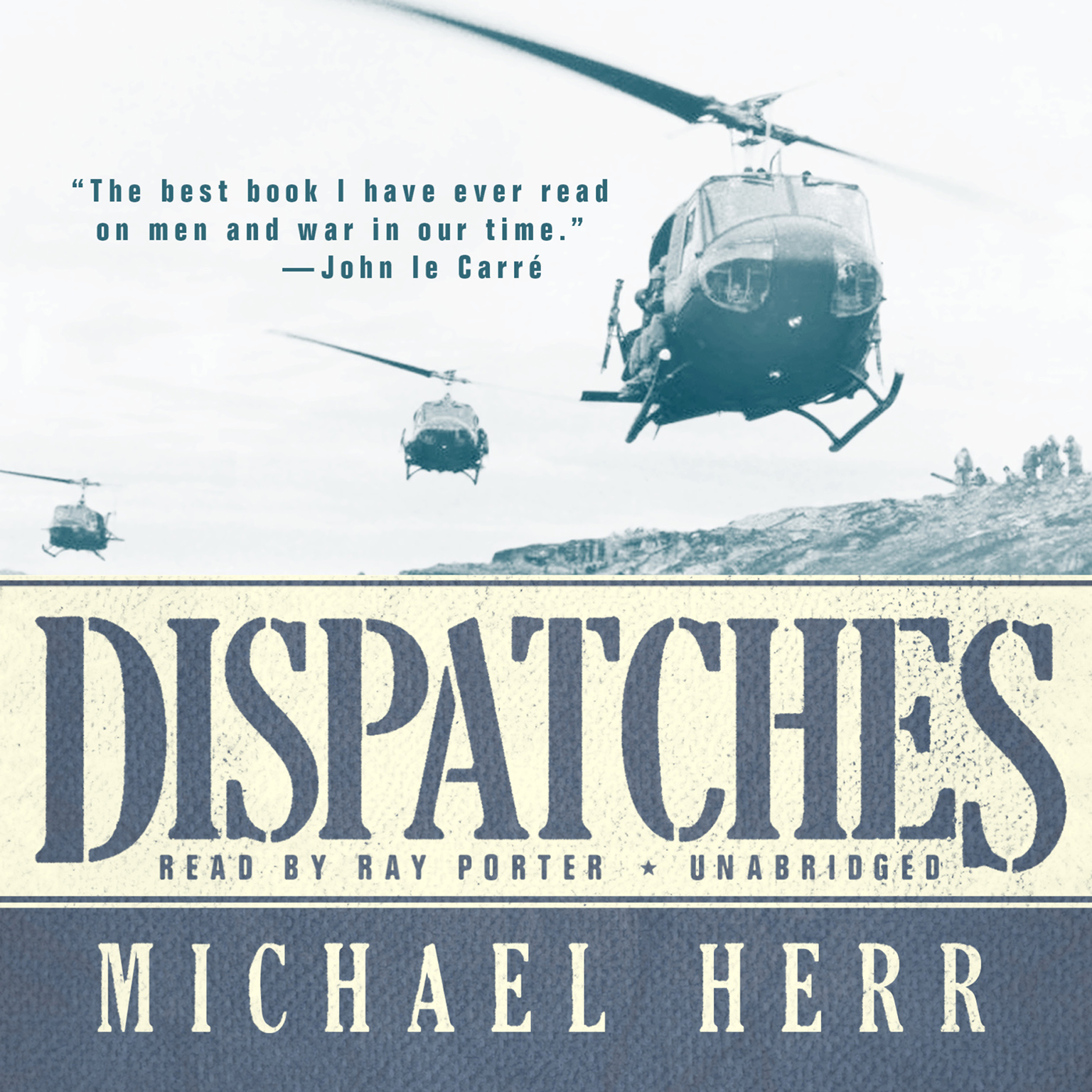 Printable Dispatches Audiobook Cover Art