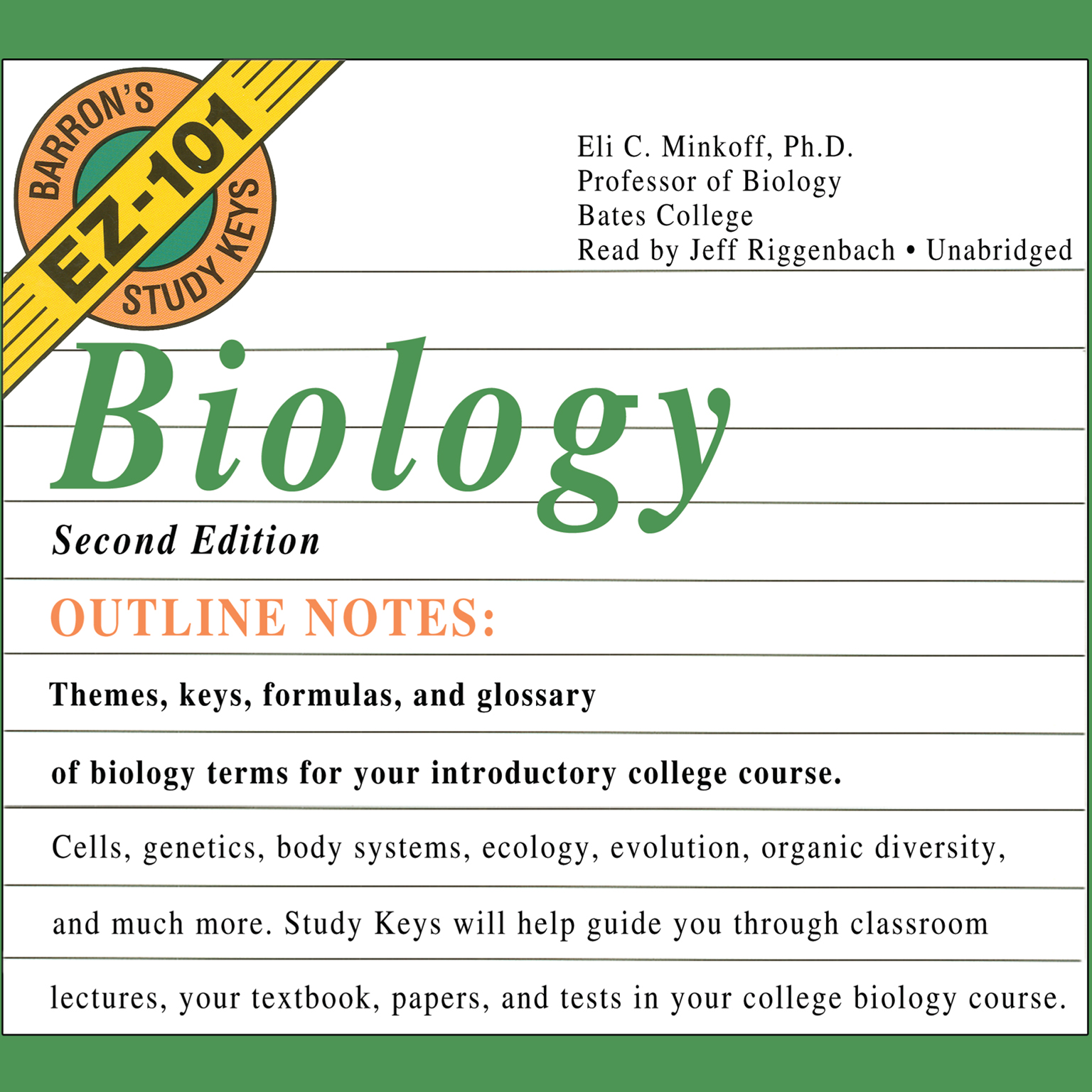 Printable Biology, Second Edition Audiobook Cover Art