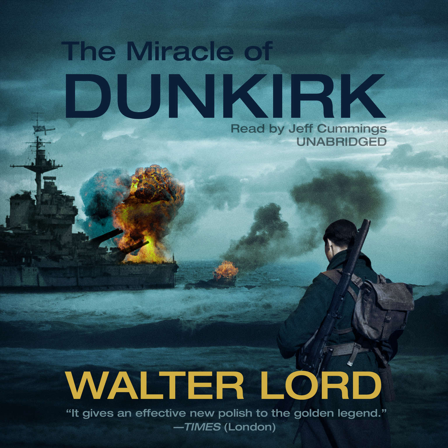 Printable The Miracle of Dunkirk Audiobook Cover Art