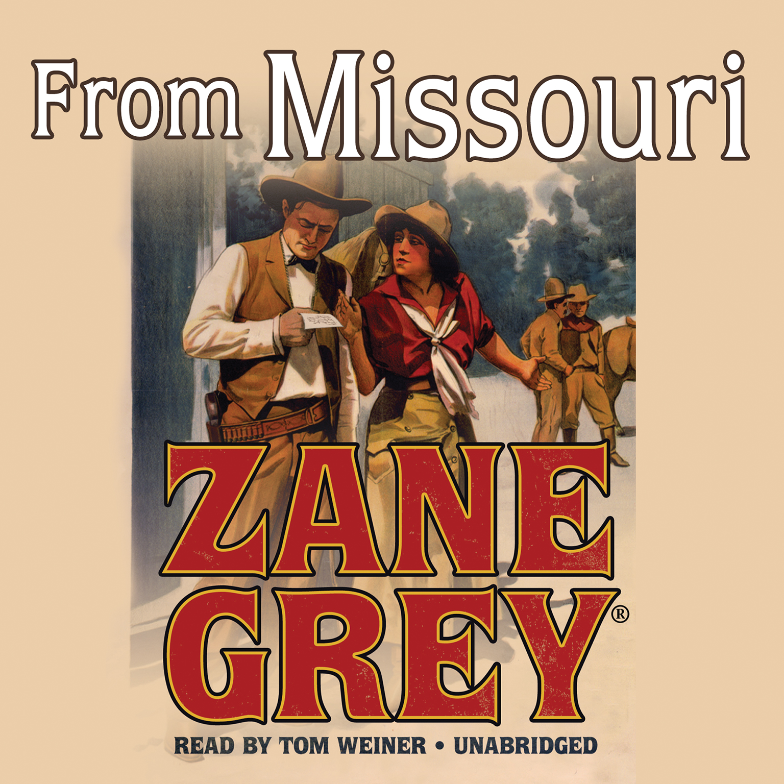 Printable From Missouri Audiobook Cover Art