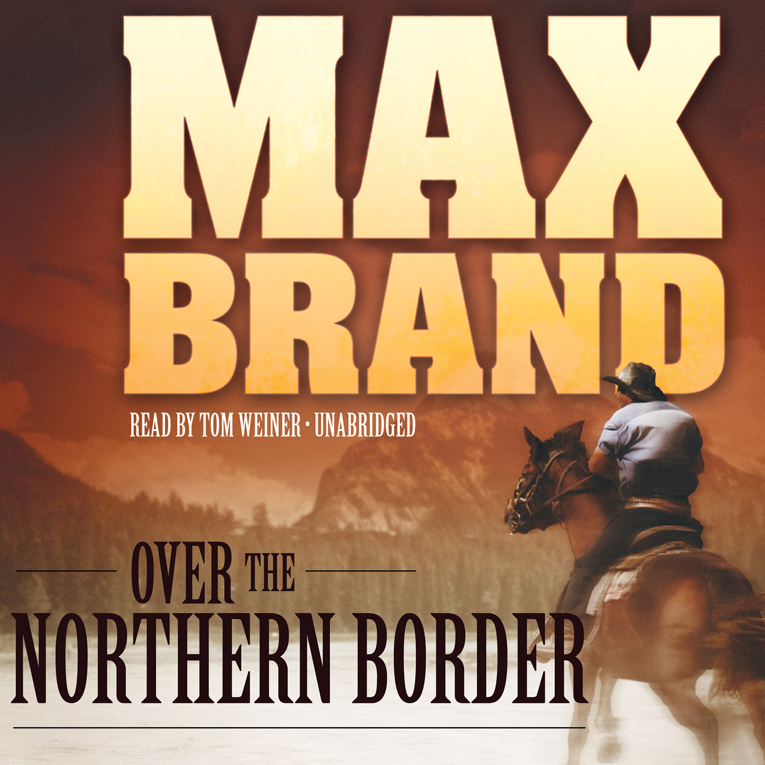 Printable Over the Northern Border Audiobook Cover Art