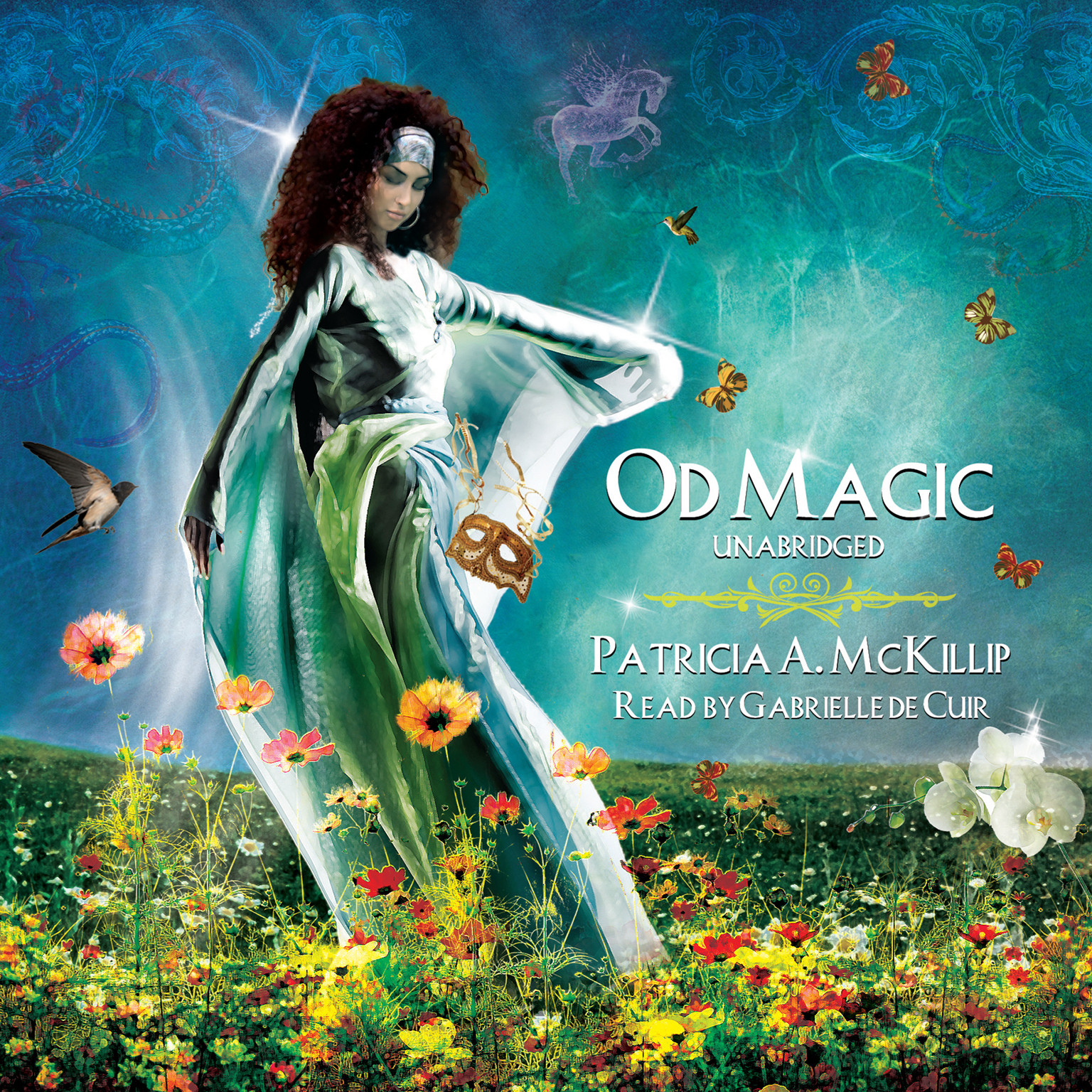 Printable Od Magic Audiobook Cover Art