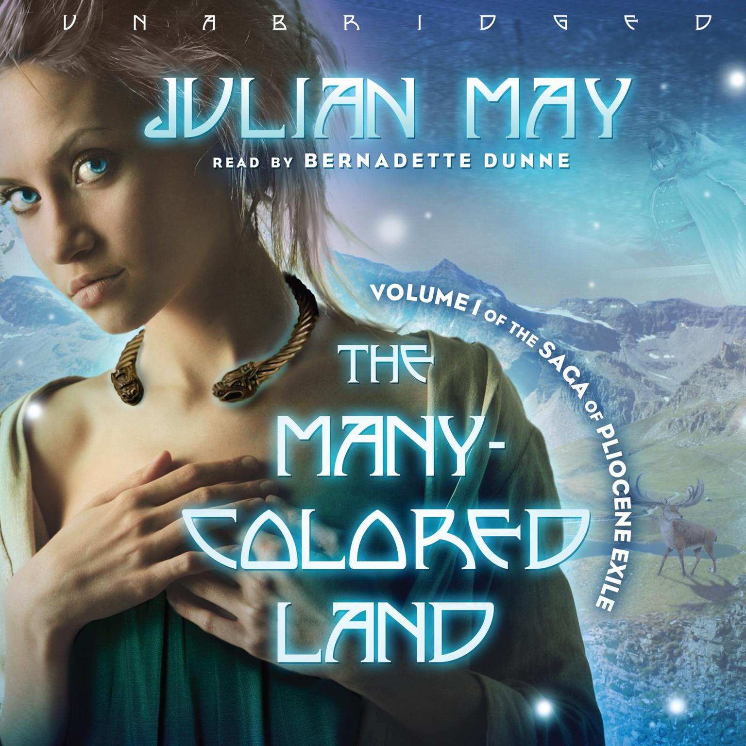 Printable The Many-Colored Land: Volume 1 of the Saga of Pliocene Exile Audiobook Cover Art