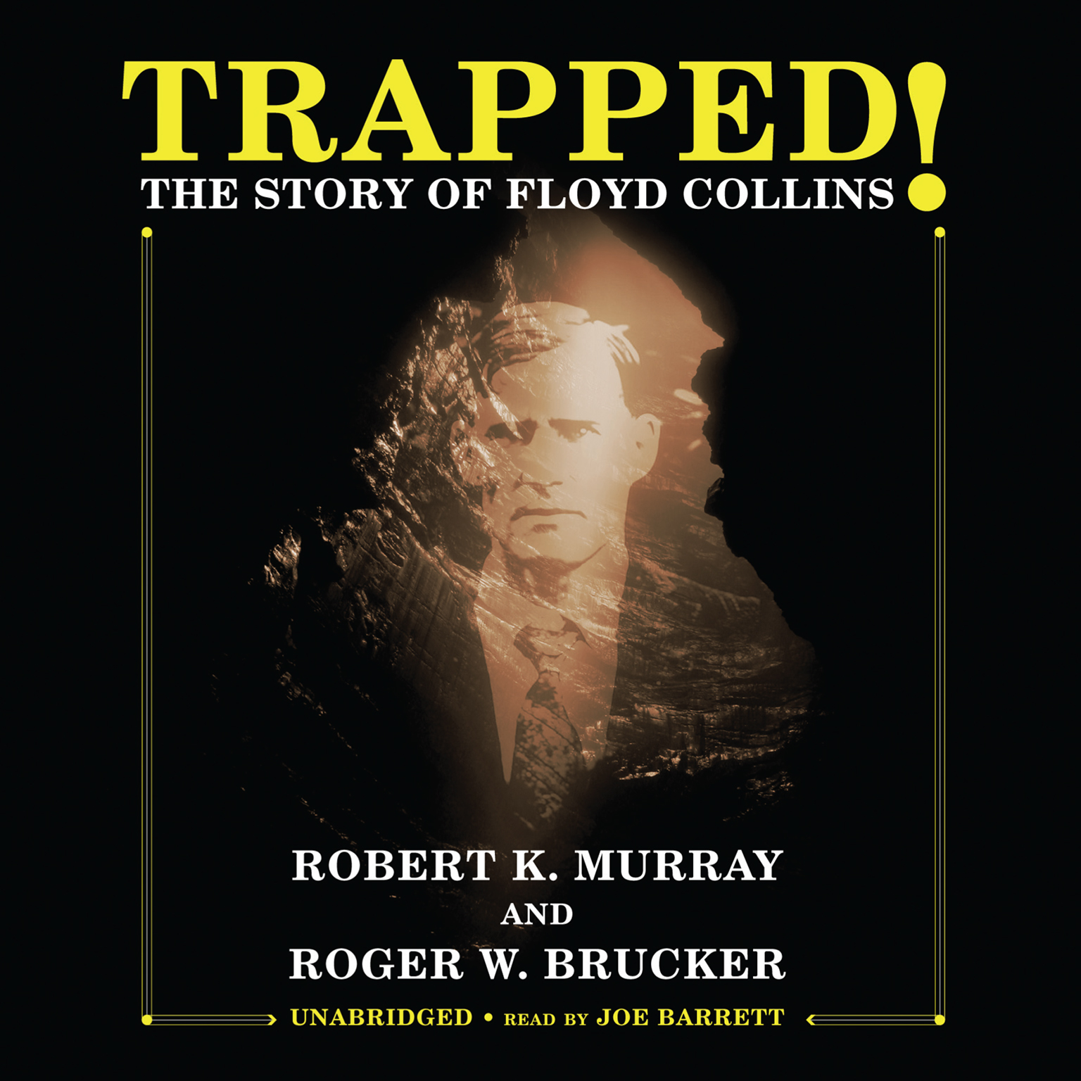 Printable Trapped!: The Story of Floyd Collins Audiobook Cover Art