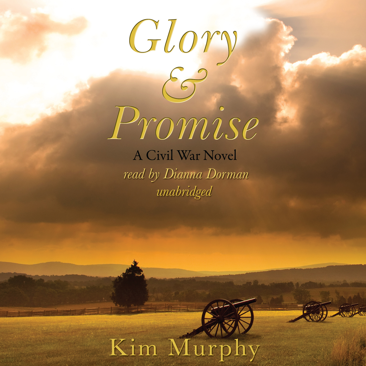 Printable Glory & Promise Audiobook Cover Art